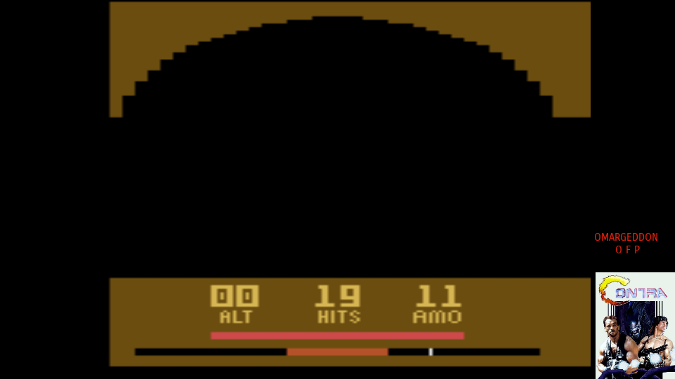 omargeddon: Air Raiders (Atari 2600 Emulated Novice/B Mode) 19 points on 2017-07-08 11:45:42