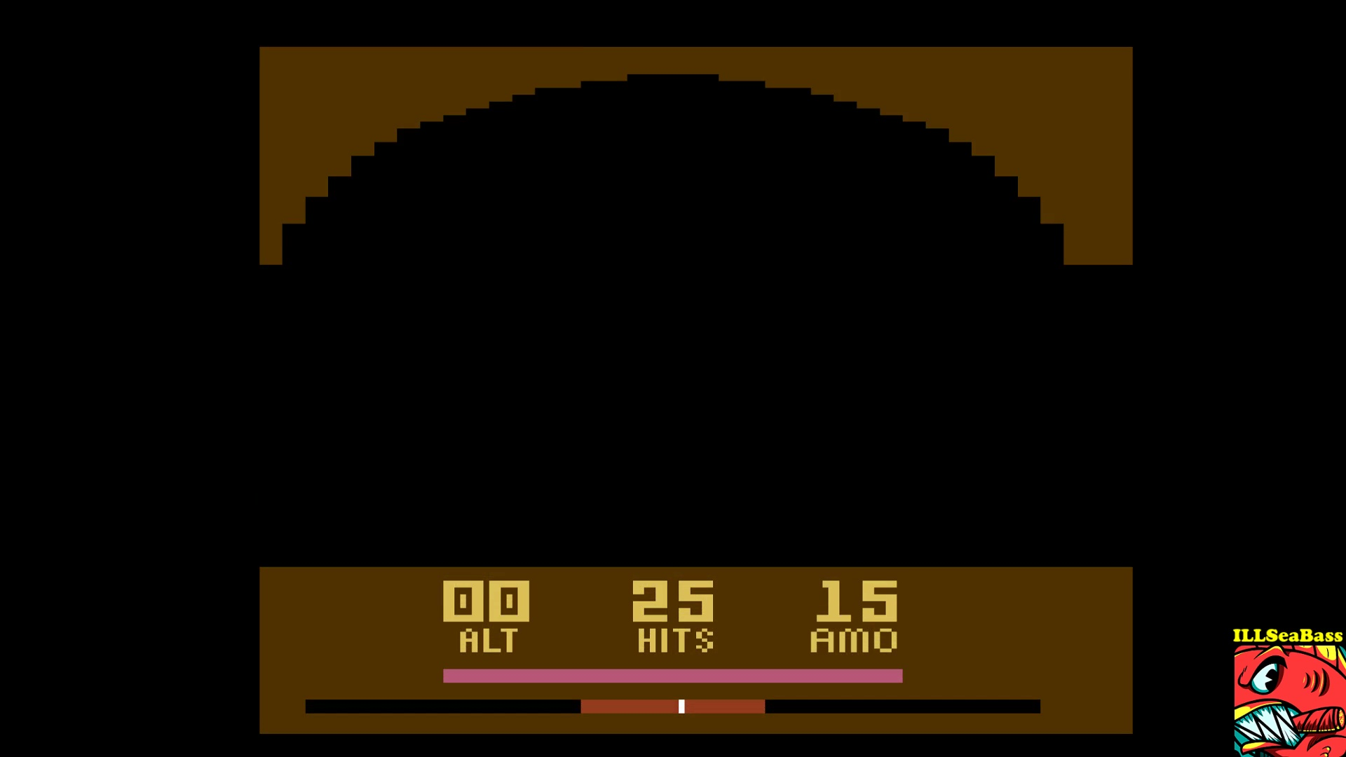 ILLSeaBass: Air Raiders (Atari 2600 Emulated Novice/B Mode) 25 points on 2017-09-29 20:07:40