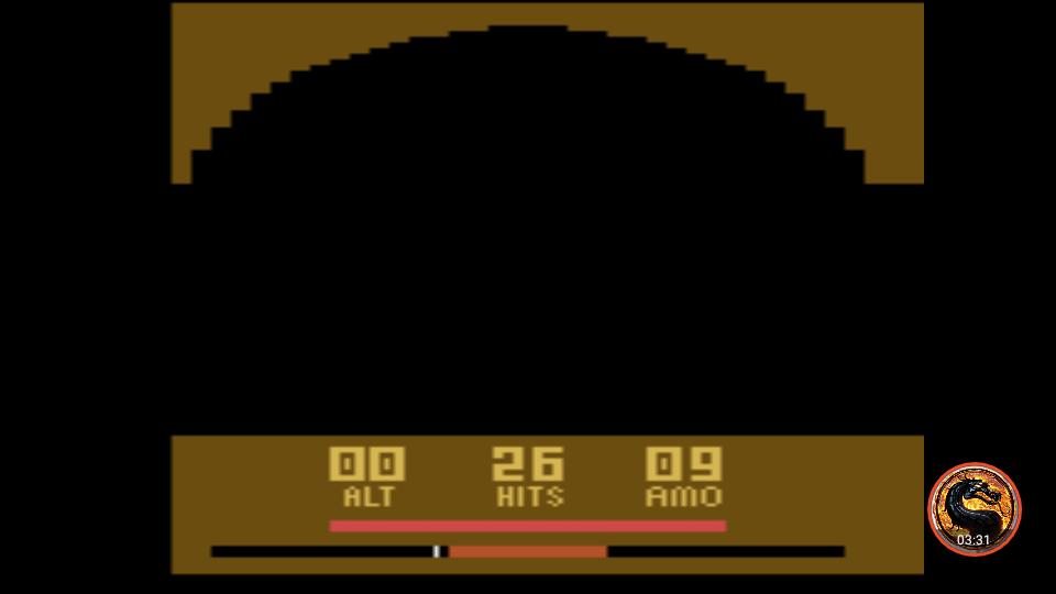 omargeddon: Air Raiders (Atari 2600 Emulated Novice/B Mode) 26 points on 2019-05-23 13:24:07