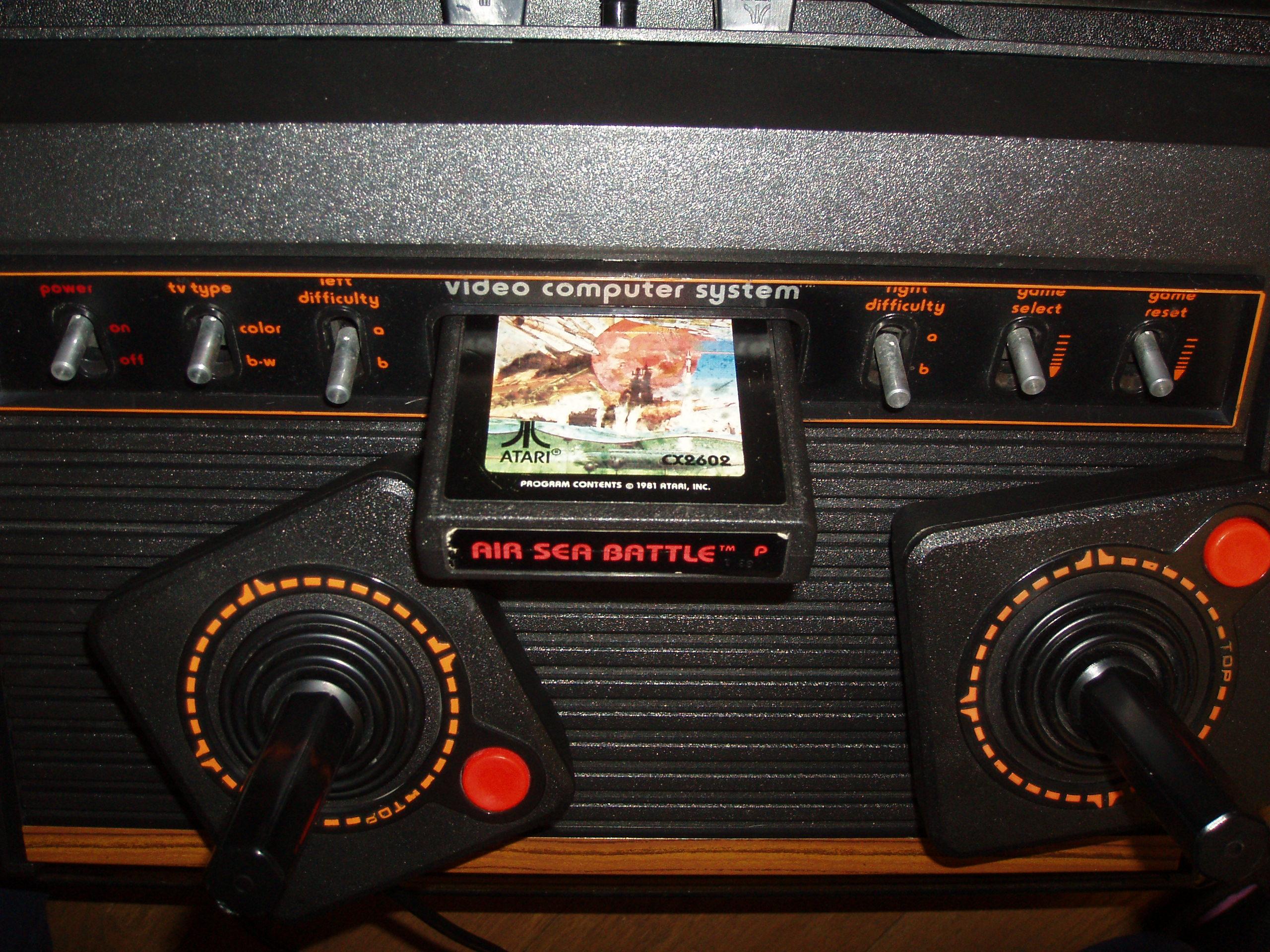 atari2600forever: Air-Sea Battle (Atari 2600 Novice/B) 34 points on 2018-04-03 03:19:34
