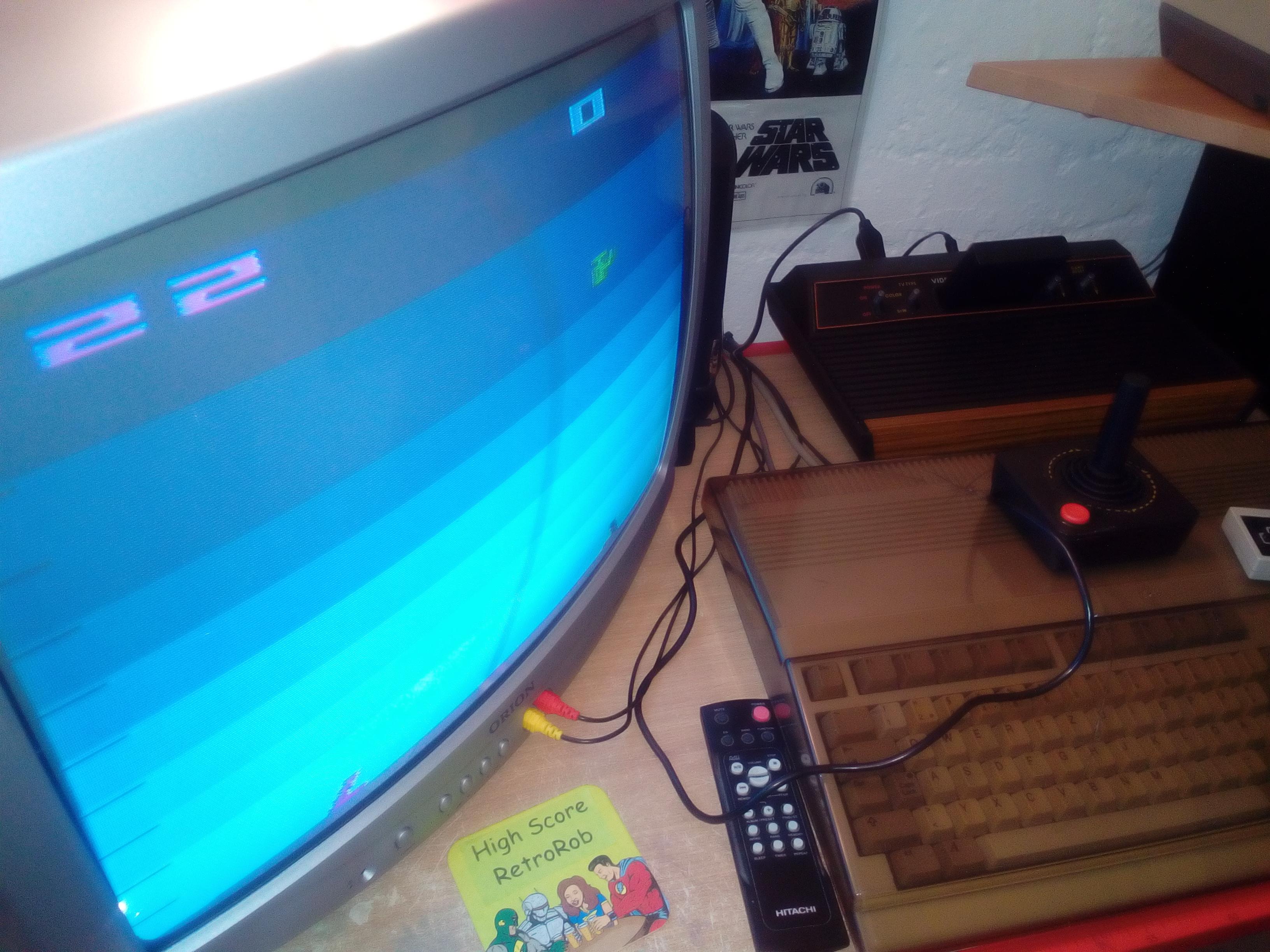 RetroRob: Air-Sea Battle (Atari 2600 Novice/B) 22 points on 2018-04-20 12:24:22
