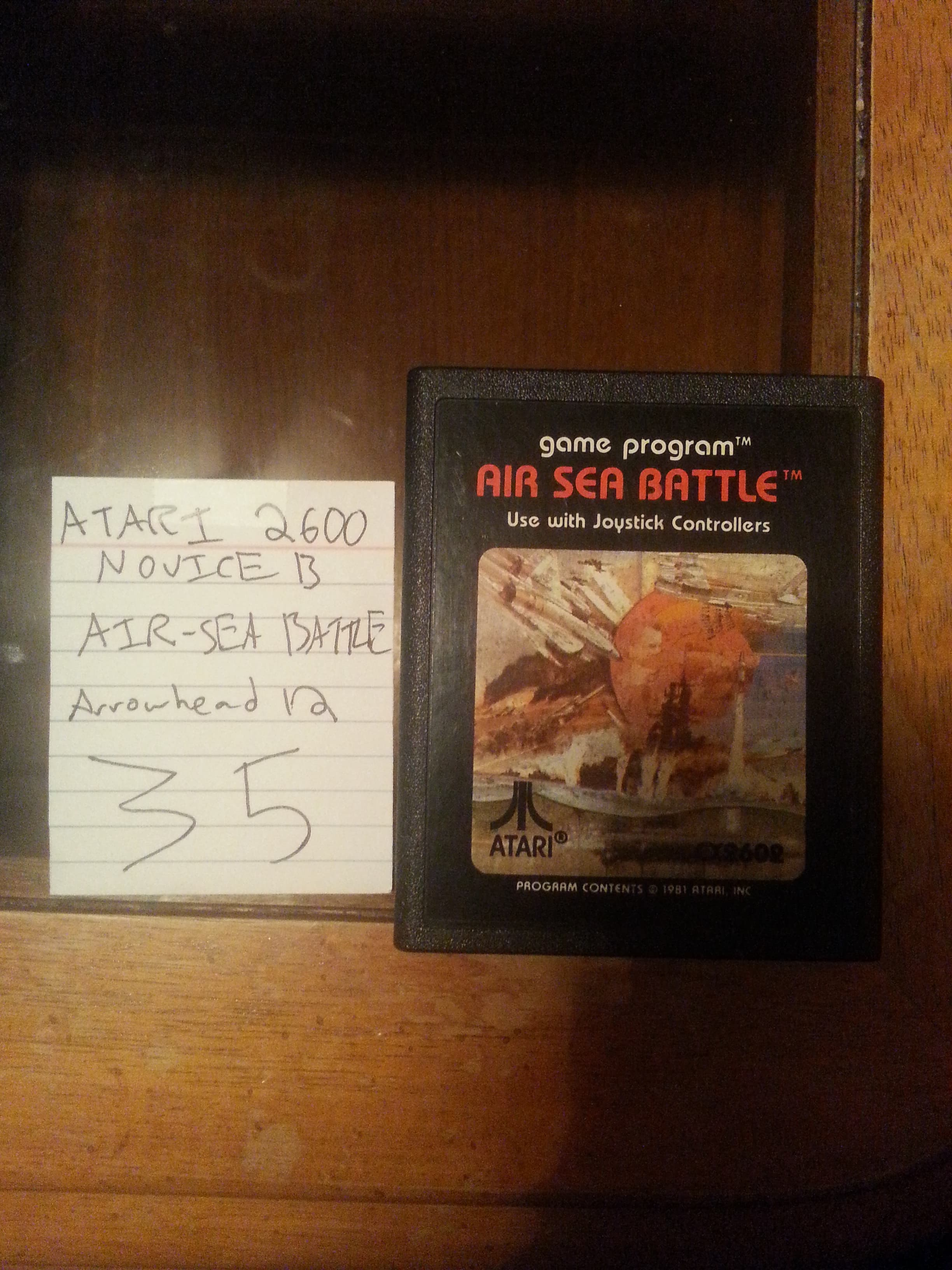 Air-Sea Battle 35 points