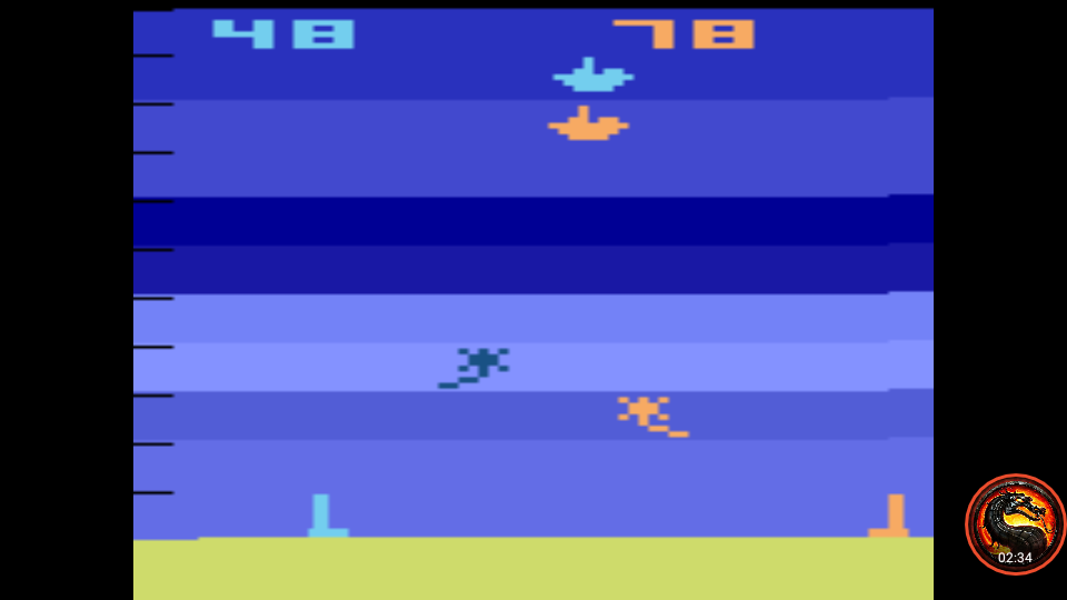 omargeddon: Air-Sea Battle: Game 12 (Atari 2600 Emulated Novice/B Mode) 78 points on 2020-01-11 00:48:53