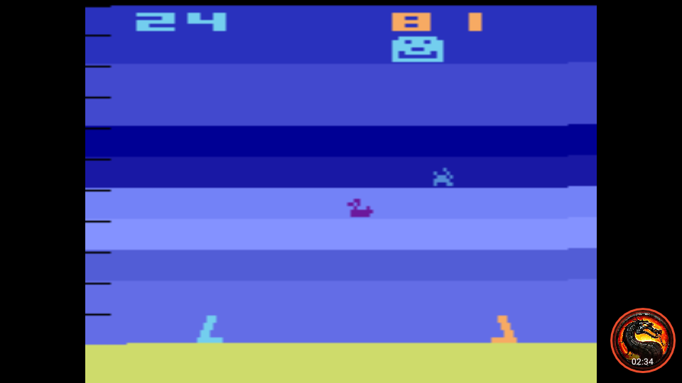 omargeddon: Air-Sea Battle: Game 15 (Atari 2600 Emulated Novice/B Mode) 81 points on 2020-01-11 00:57:09