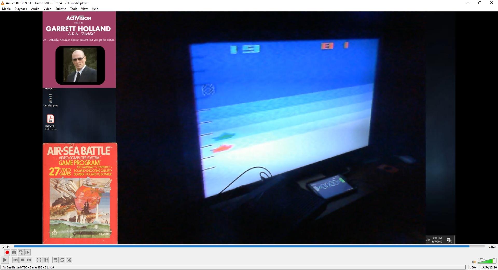 ZilchSr: Air-Sea Battle: Game 18 (Atari 2600 Novice/B) 81 points on 2019-10-10 20:35:17