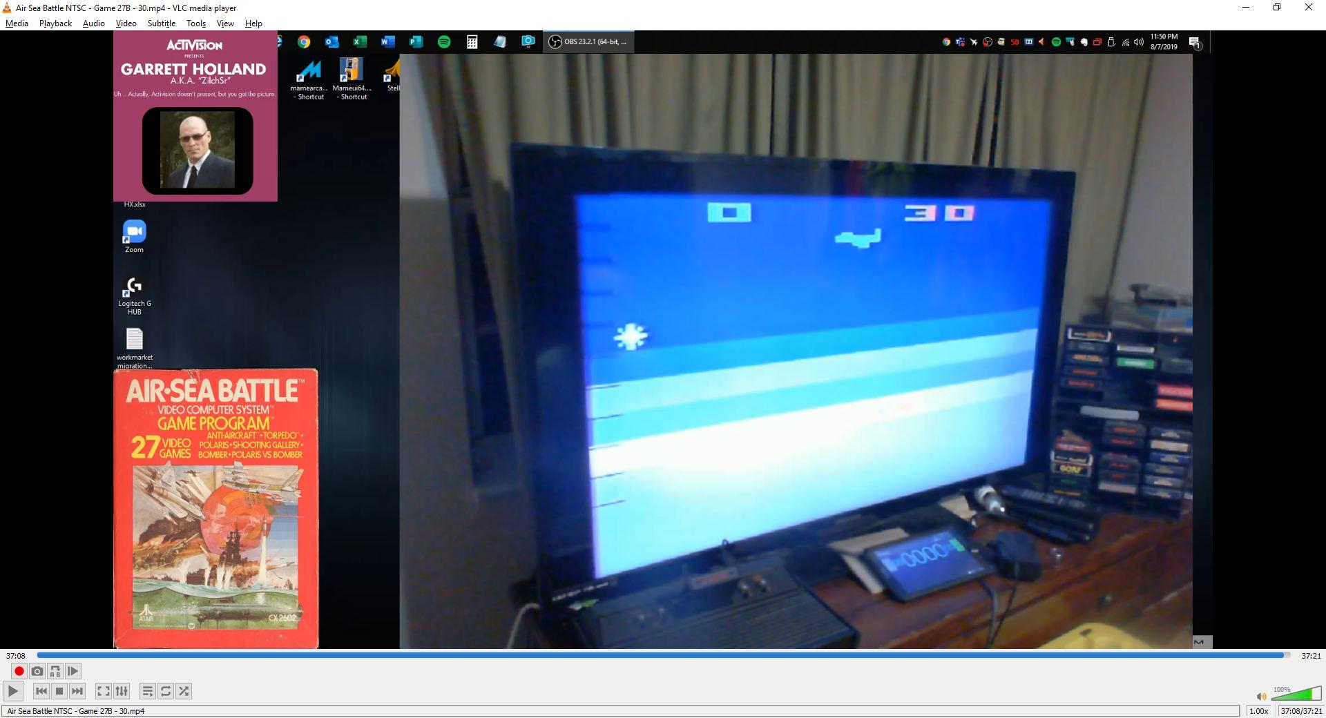 ZilchSr: Air-Sea Battle: Game 27 (Atari 2600 Novice/B) 30 points on 2019-10-10 21:06:35