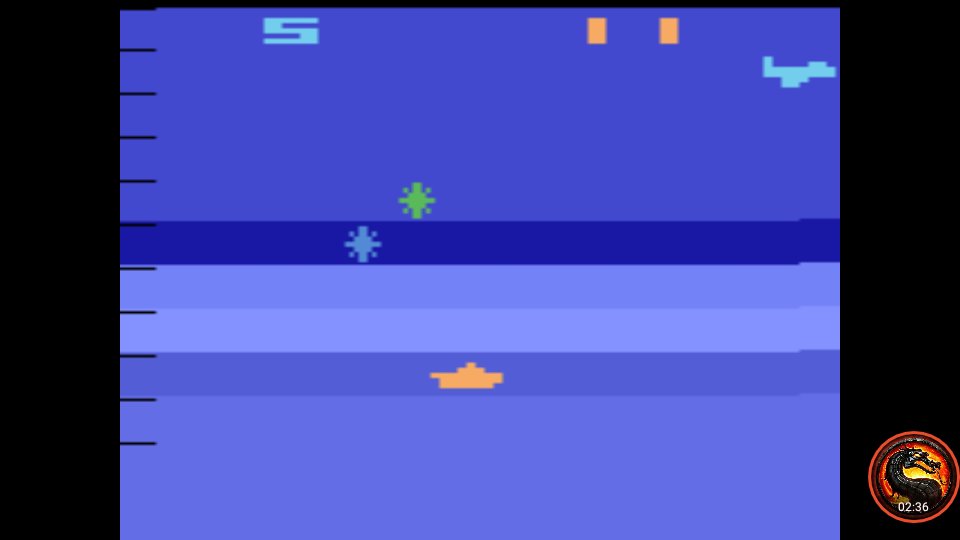 omargeddon: Air-Sea Battle: Game 27 (Atari 2600 Emulated Novice/B Mode) 11 points on 2020-01-11 01:21:35
