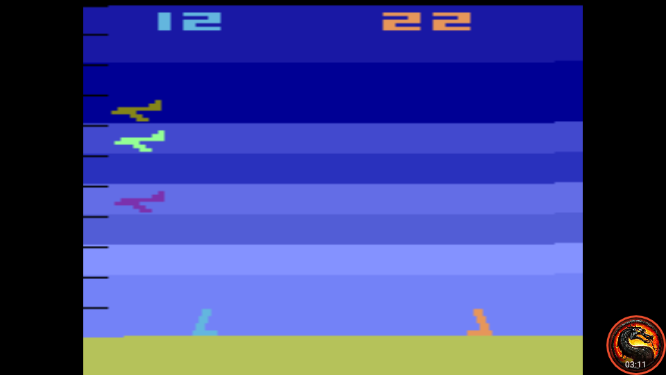 omargeddon: Air-Sea Battle: Game 3 (Atari 2600 Emulated Expert/A Mode) 22 points on 2020-06-21 10:56:02