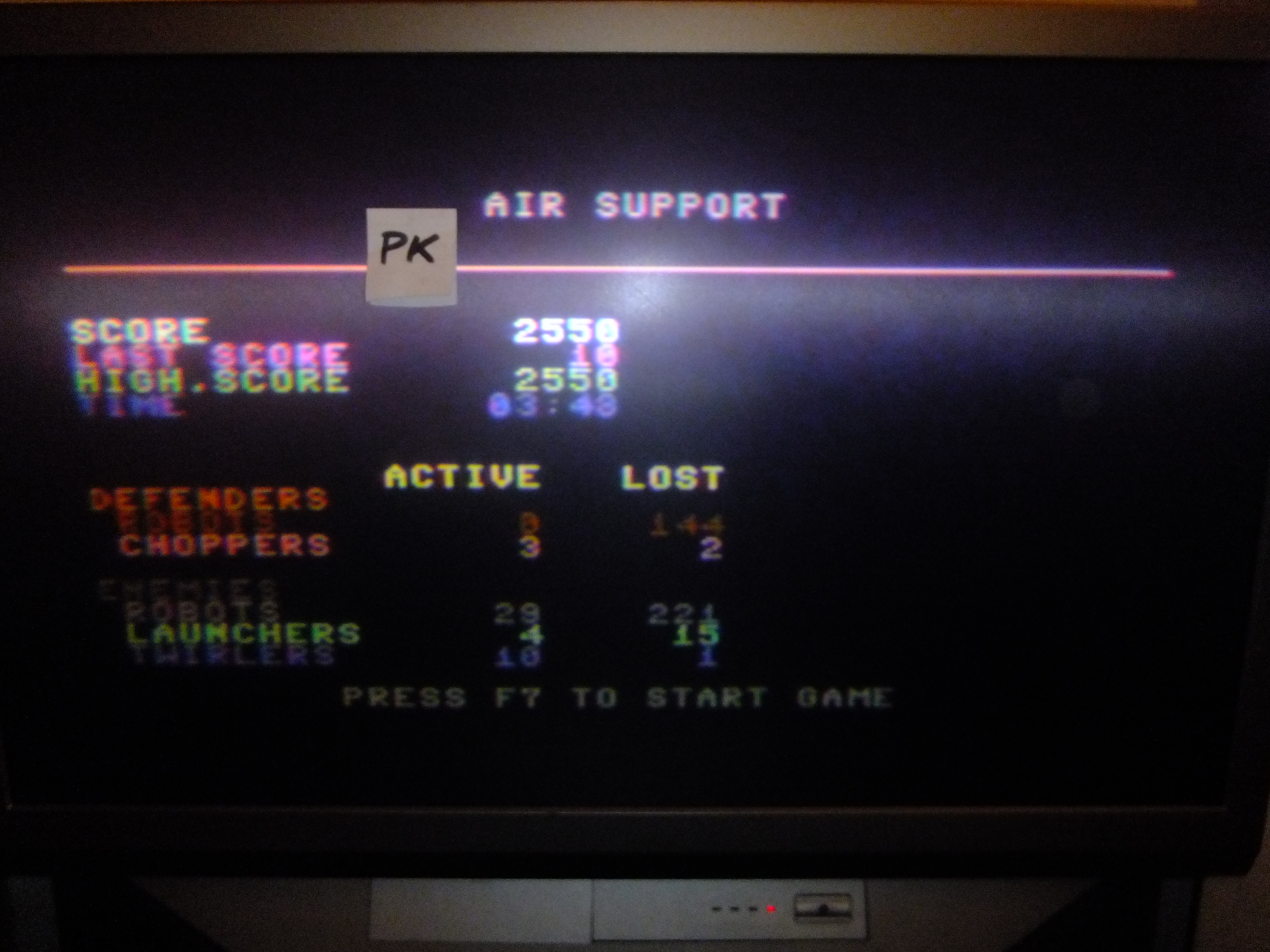 kernzy: Air Support (Commodore 64) 2,550 points on 2015-12-06 09:19:43