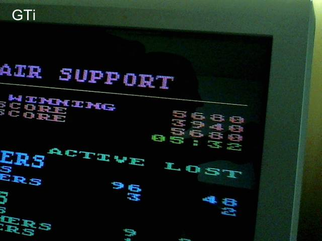 GTibel: Air Support [Default Settings] (Atari 400/800/XL/XE) 5,680 points on 2017-10-23 13:48:11