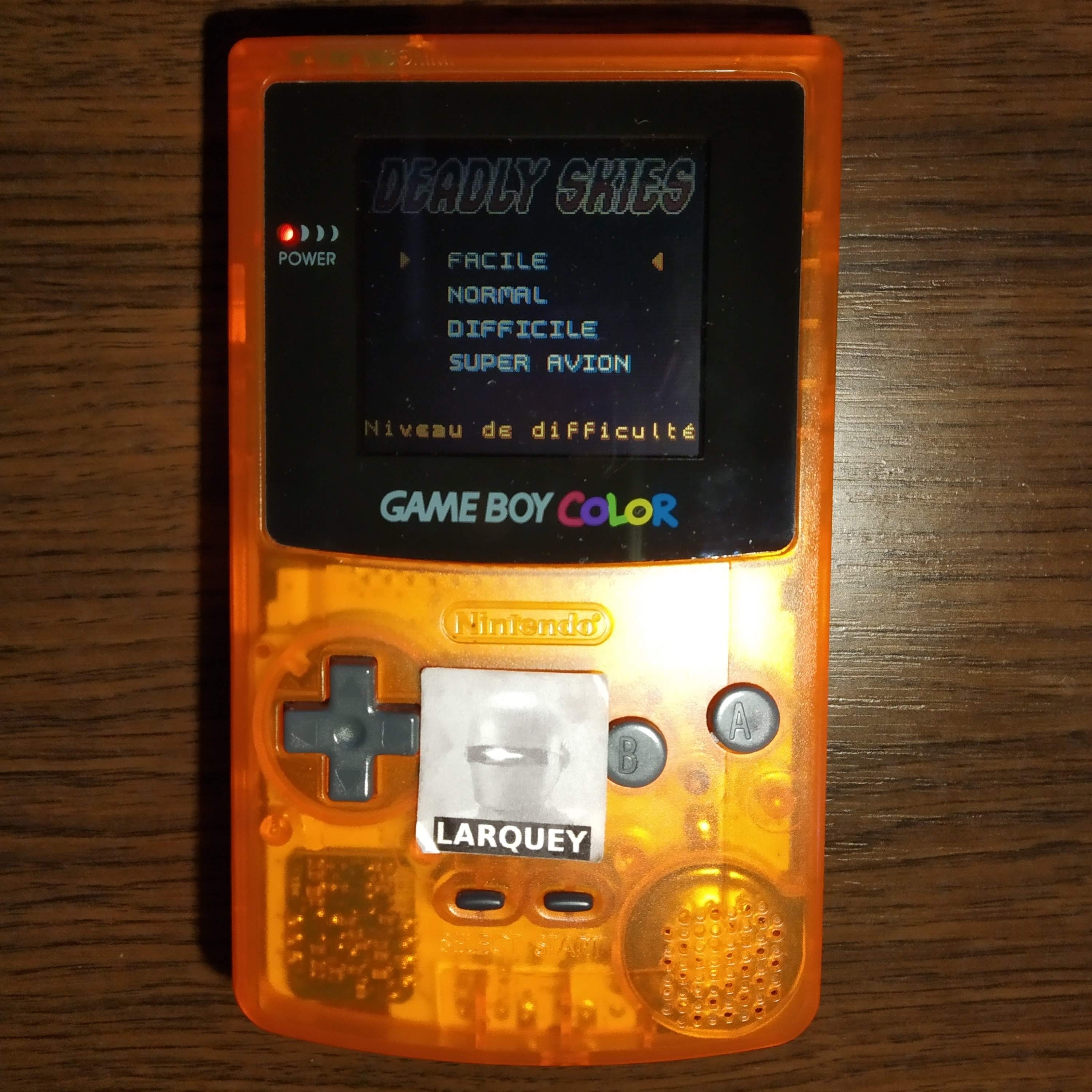 Larquey: AirForce Delta [Easy] (Game Boy Color) 20,400 points on 2020-07-23 11:24:20