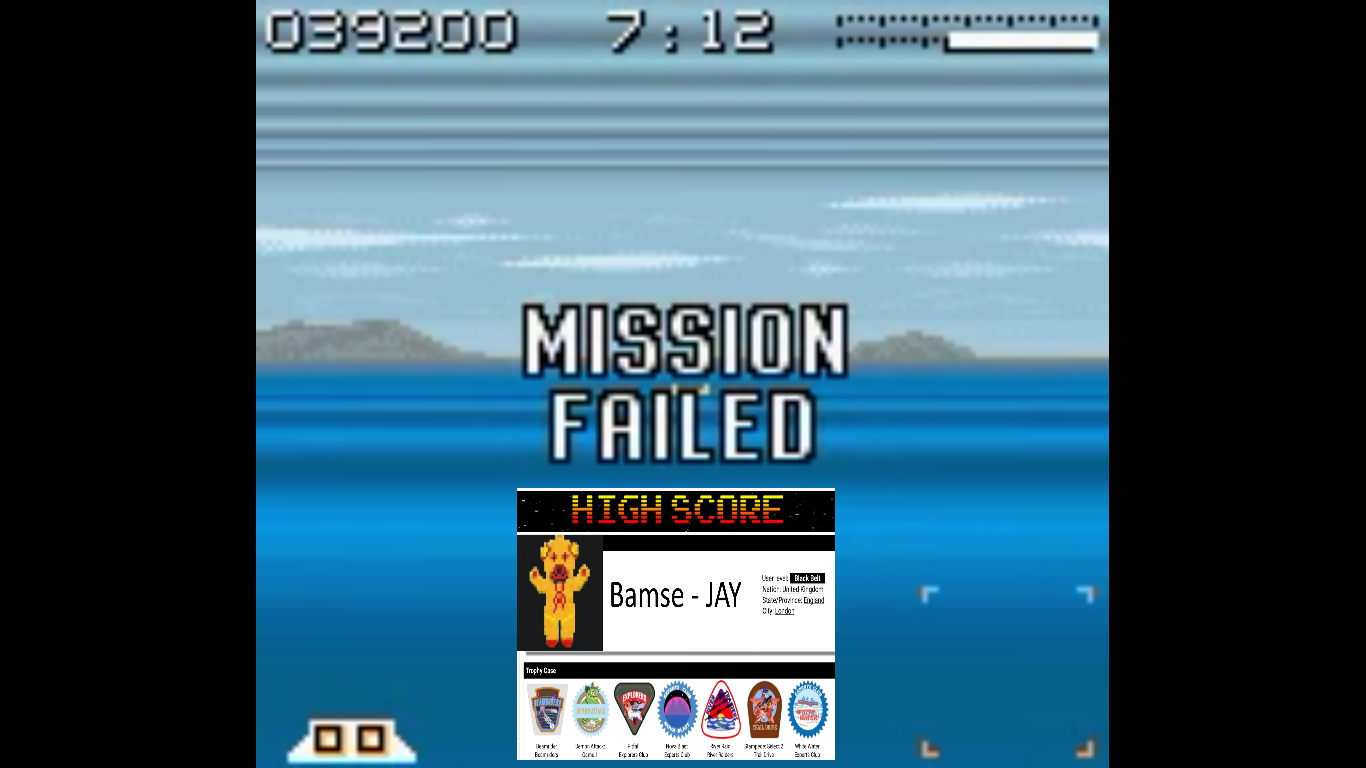 Bamse: AirForce Delta [Hard] (Game Boy Color Emulated) 39,200 points on 2019-10-22 16:42:05