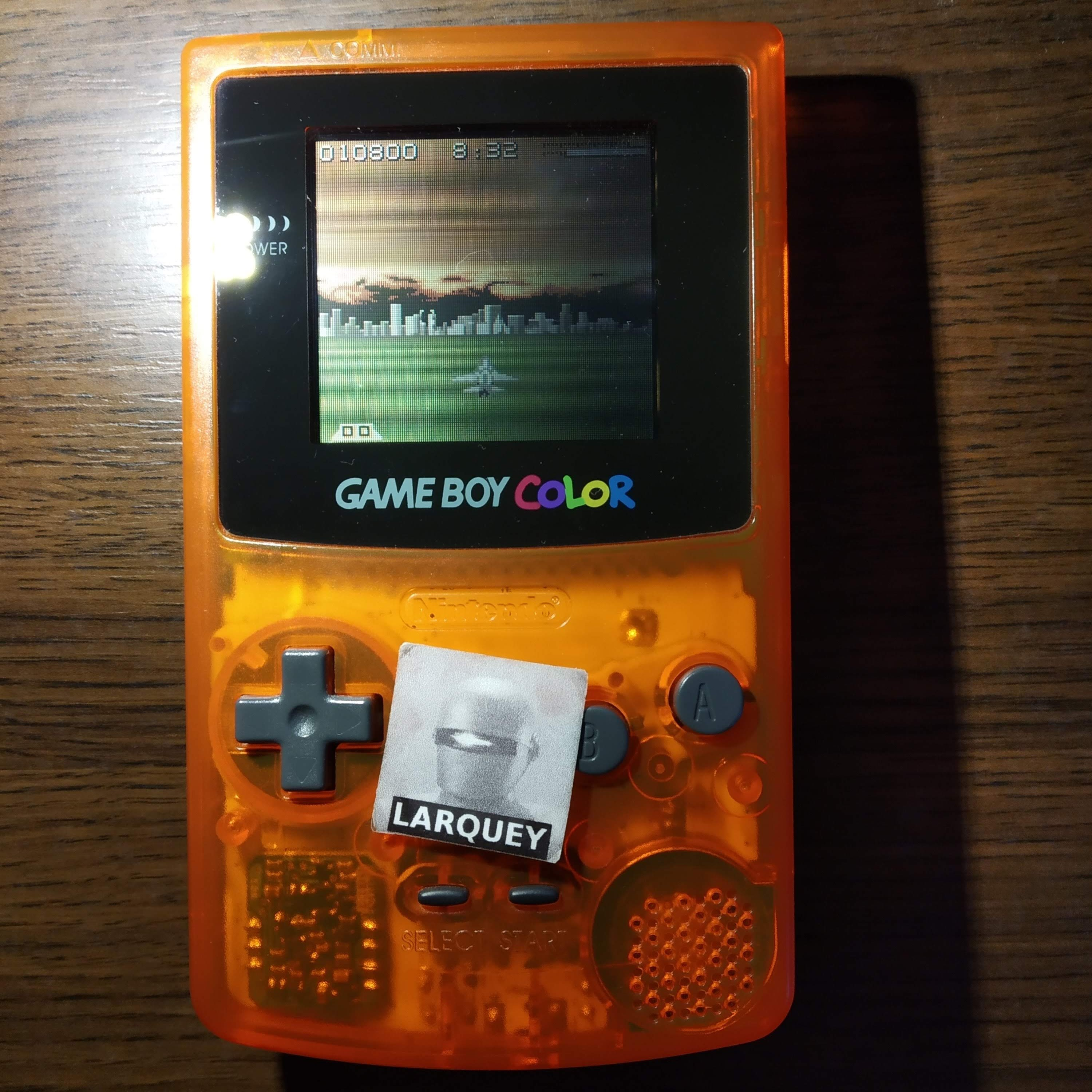 Larquey: AirForce Delta [Hard] (Game Boy Color) 10,800 points on 2020-07-23 11:52:04