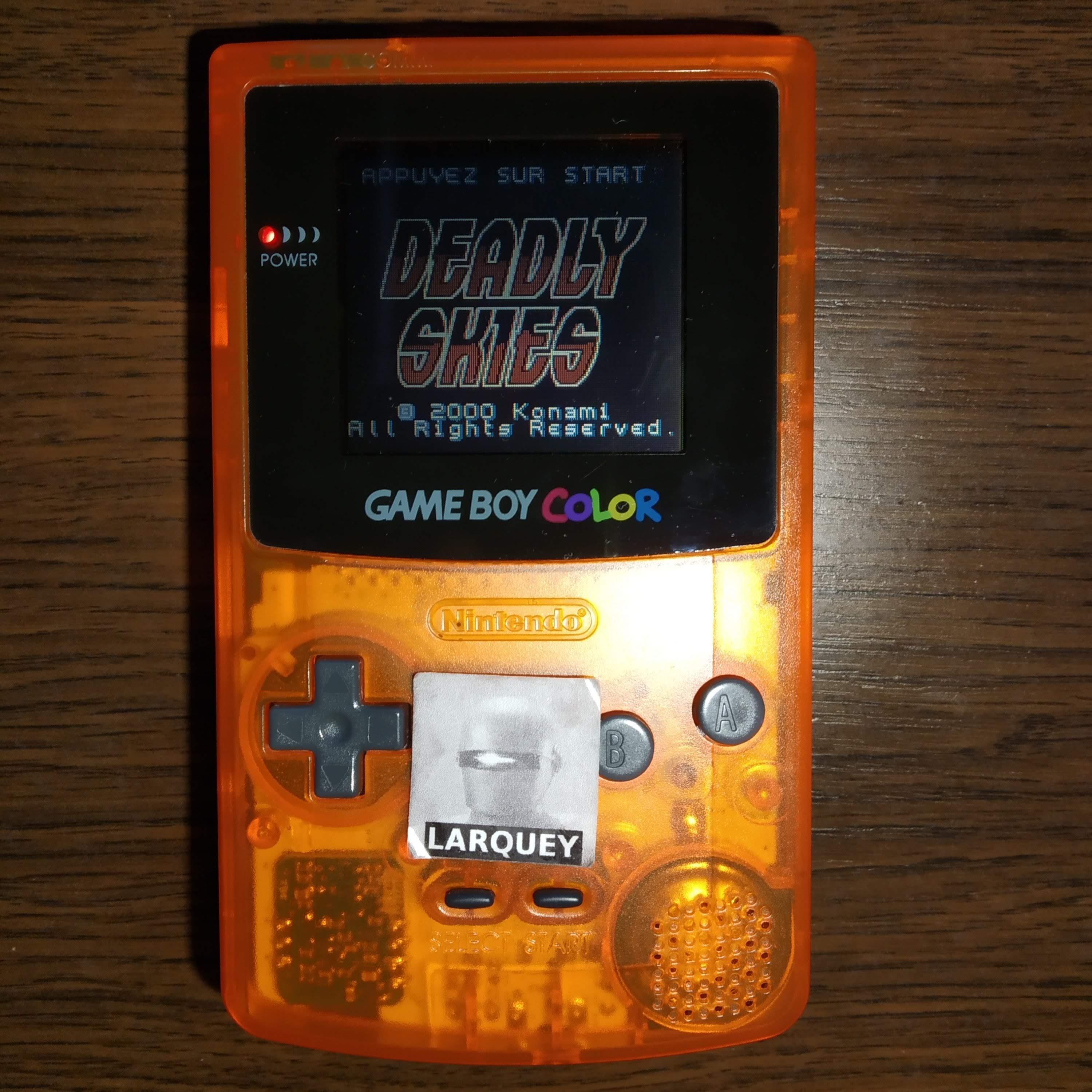 Larquey: AirForce Delta [Normal] (Game Boy Color) 14,200 points on 2020-07-23 11:43:11