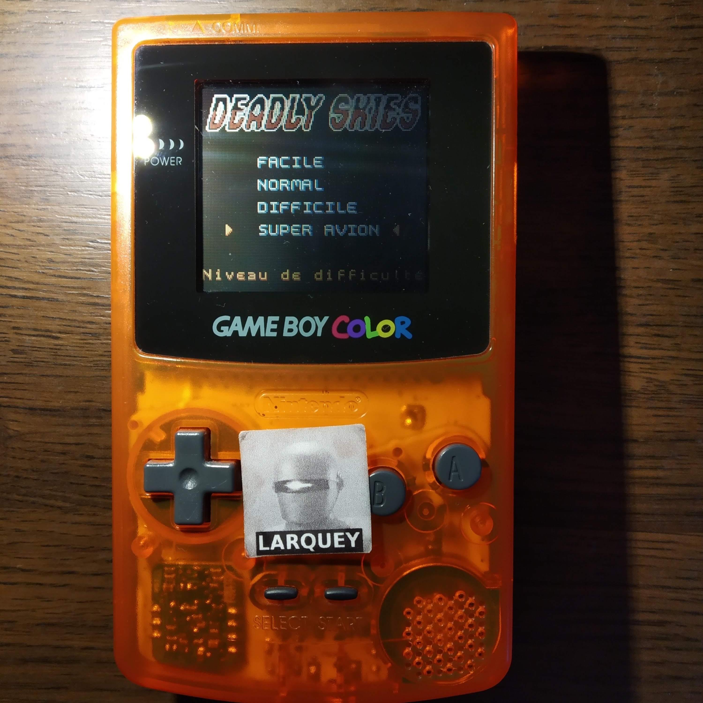 Larquey: AirForce Delta [Superplane] (Game Boy Color) 4,500 points on 2020-07-23 11:58:58
