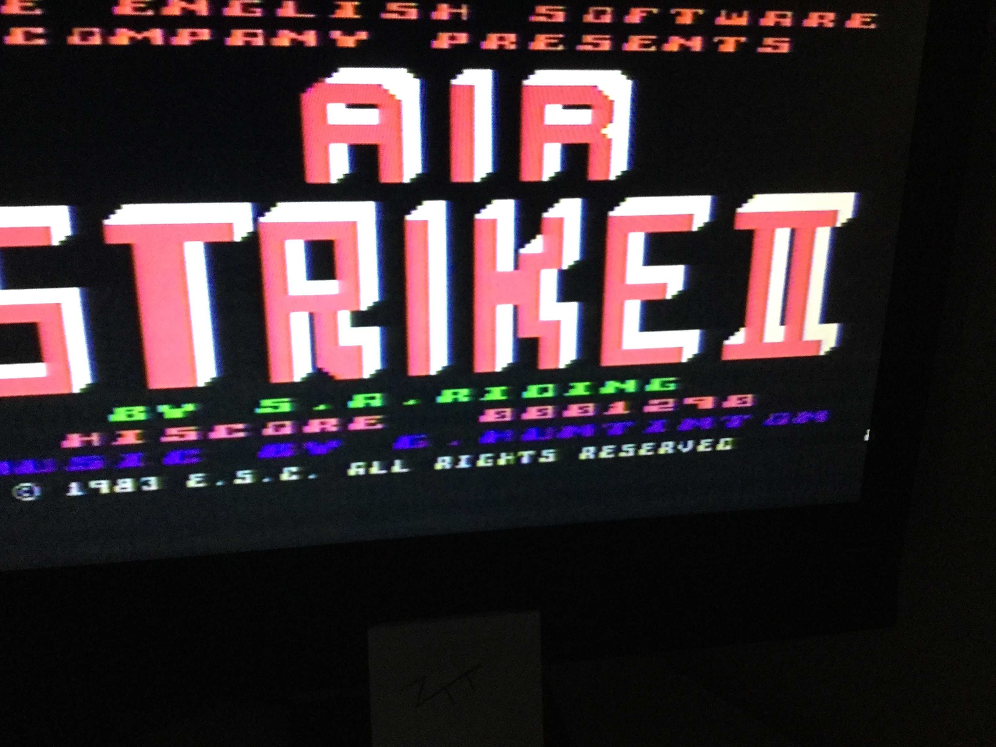 Frankie: Airstrike II (Atari 400/800/XL/XE) 1,290 points on 2018-08-29 12:50:40
