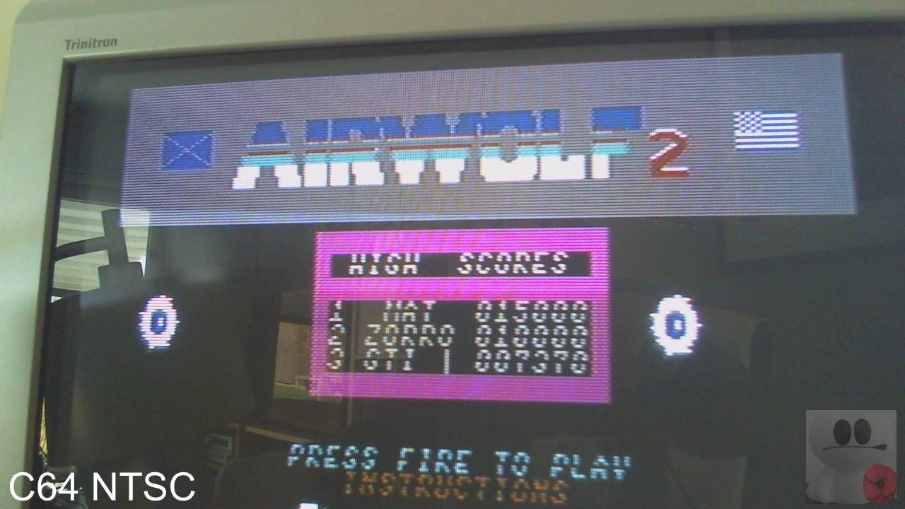 GTibel: Airwolf 2 (Commodore 64) 7,370 points on 2020-03-28 10:03:06