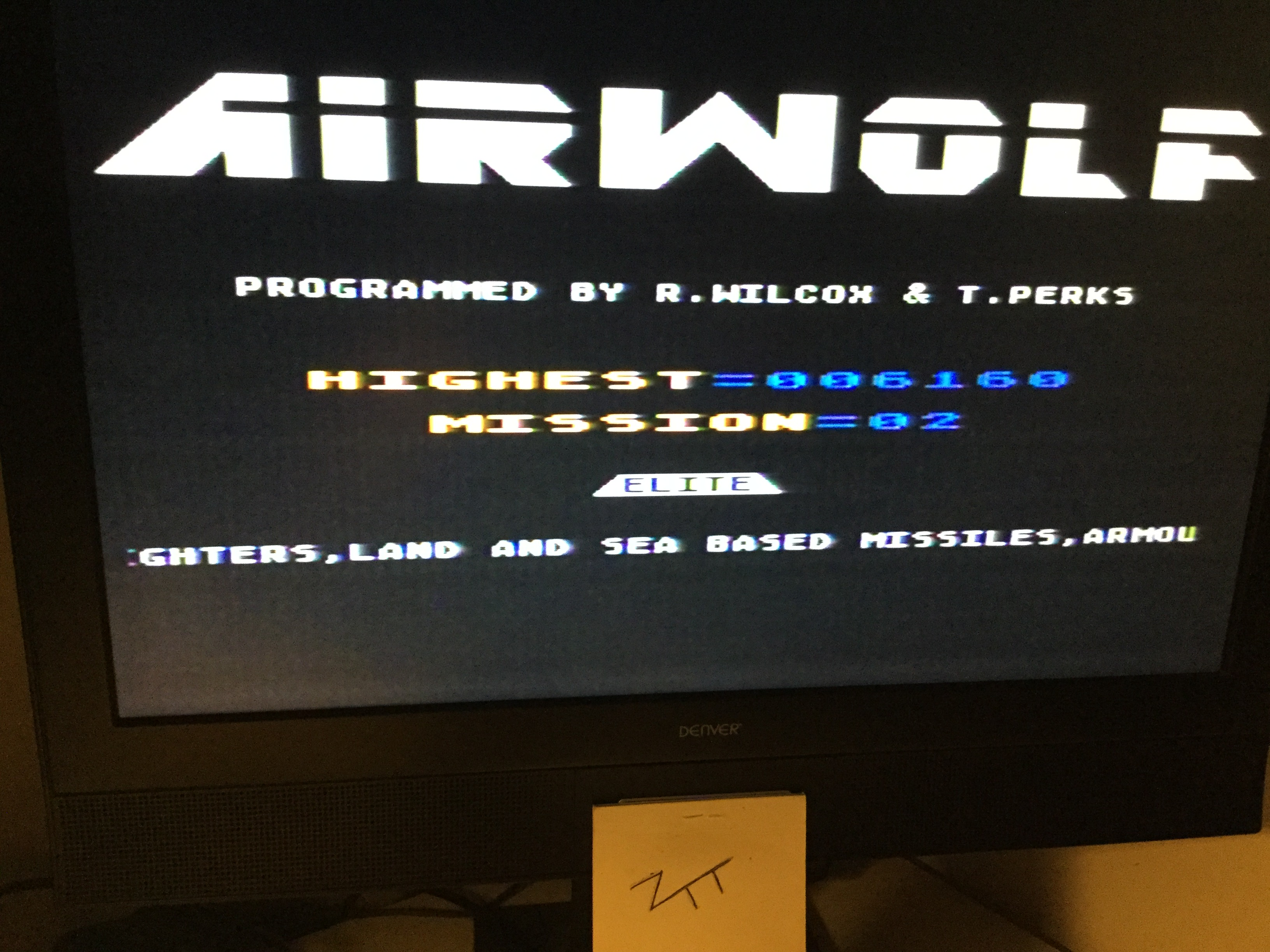 Frankie: Airwolf [Mission 1] (Atari 400/800/XL/XE) 6,160 points on 2018-09-01 13:49:15