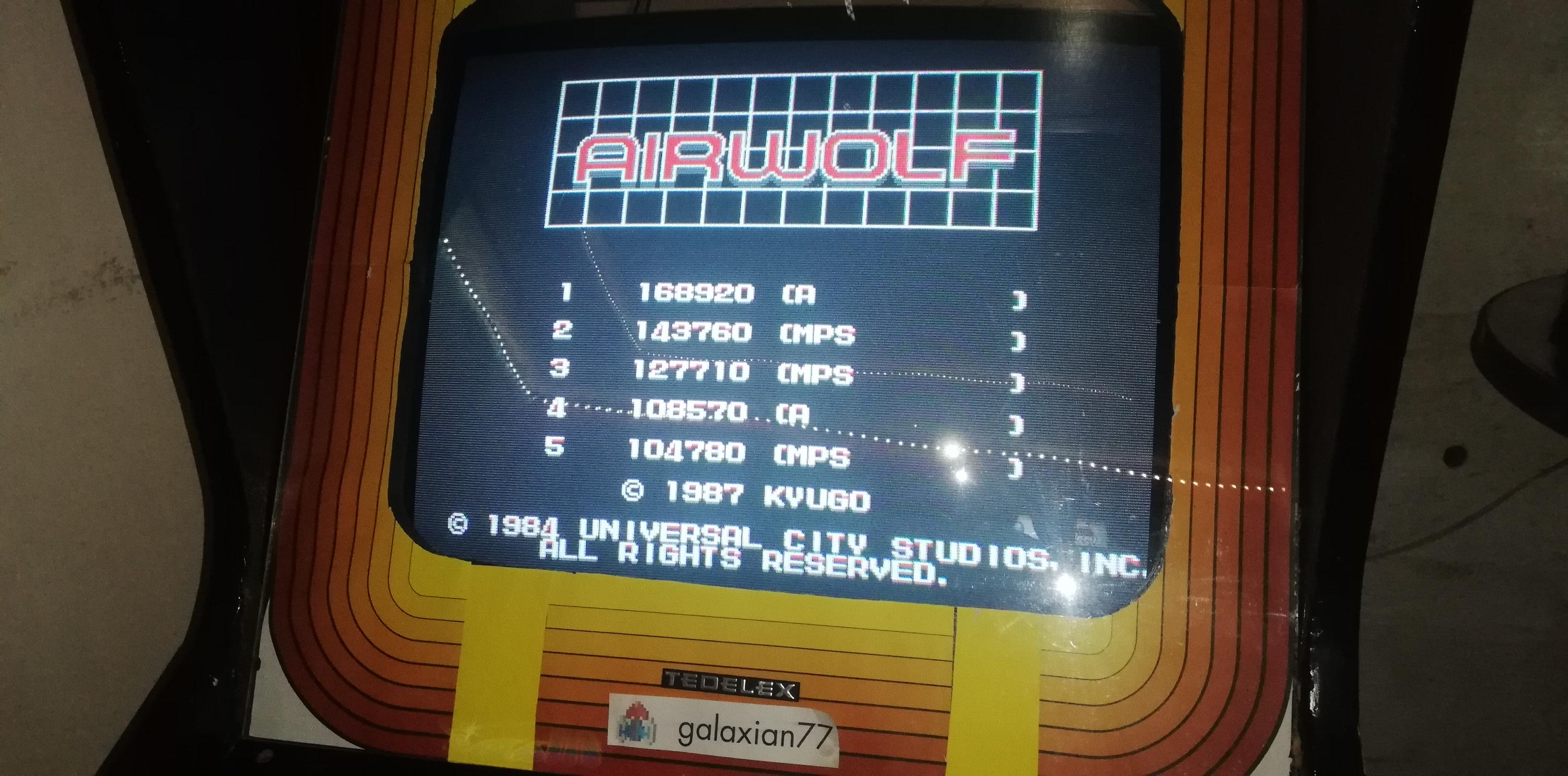 Airwolf [airwolf] 168,920 points