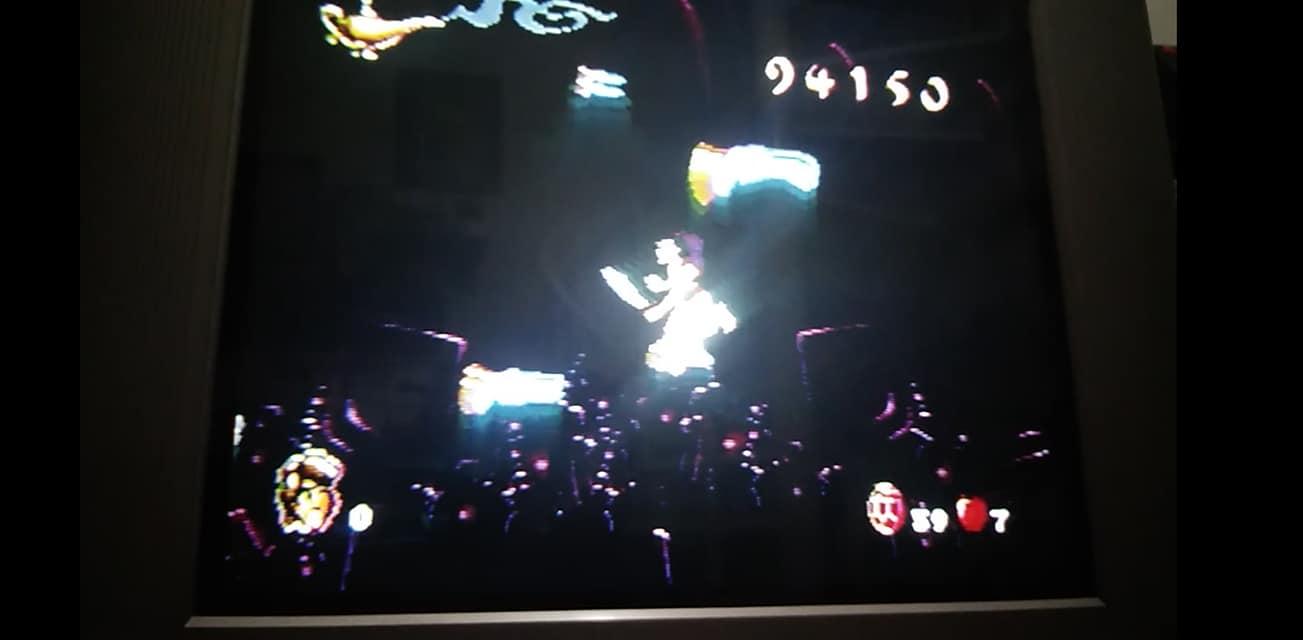 Aladdin [Hard] 94,150 points
