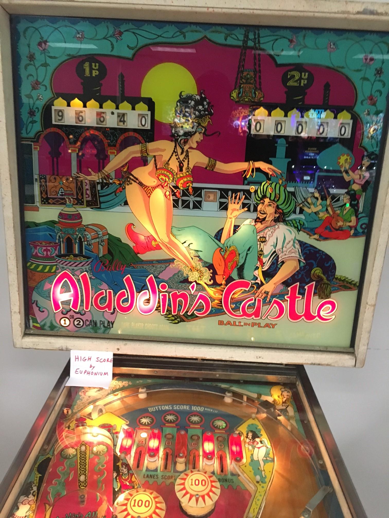Aladdin's Castle 96,640 points