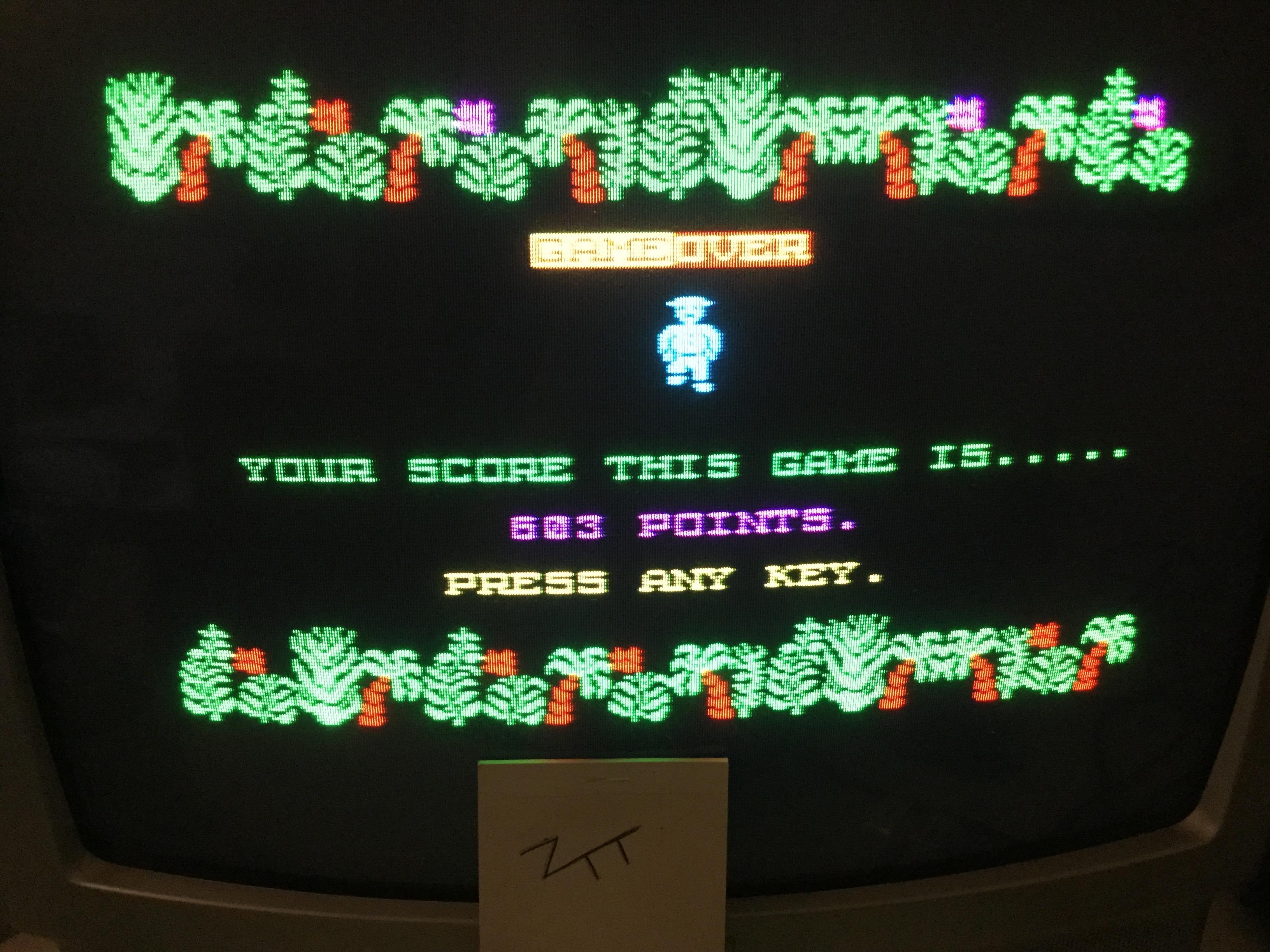 Frankie: Alcatraz II [Easy] (ZX Spectrum) 603 points on 2017-06-09 12:38:15