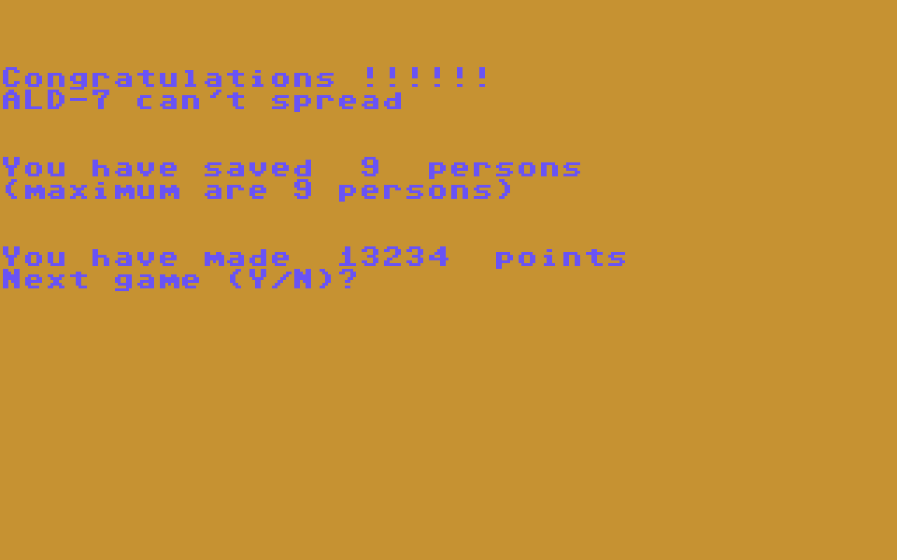 Hyeron: Aldebaran (Commodore 64 Emulated) 13,234 points on 2019-07-06 03:04:27
