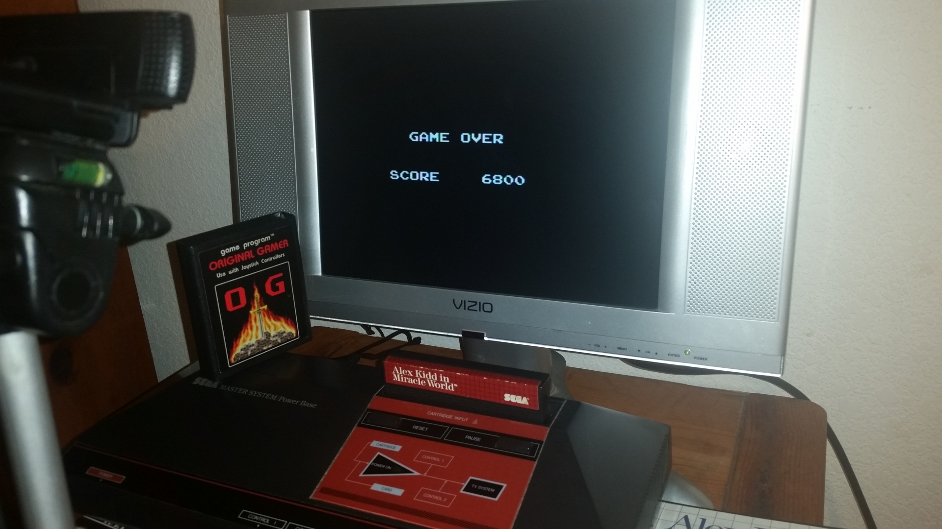 OriginalGamer: Alex Kidd in Miracle World (Sega Master System) 6,800 points on 2016-11-17 01:24:27