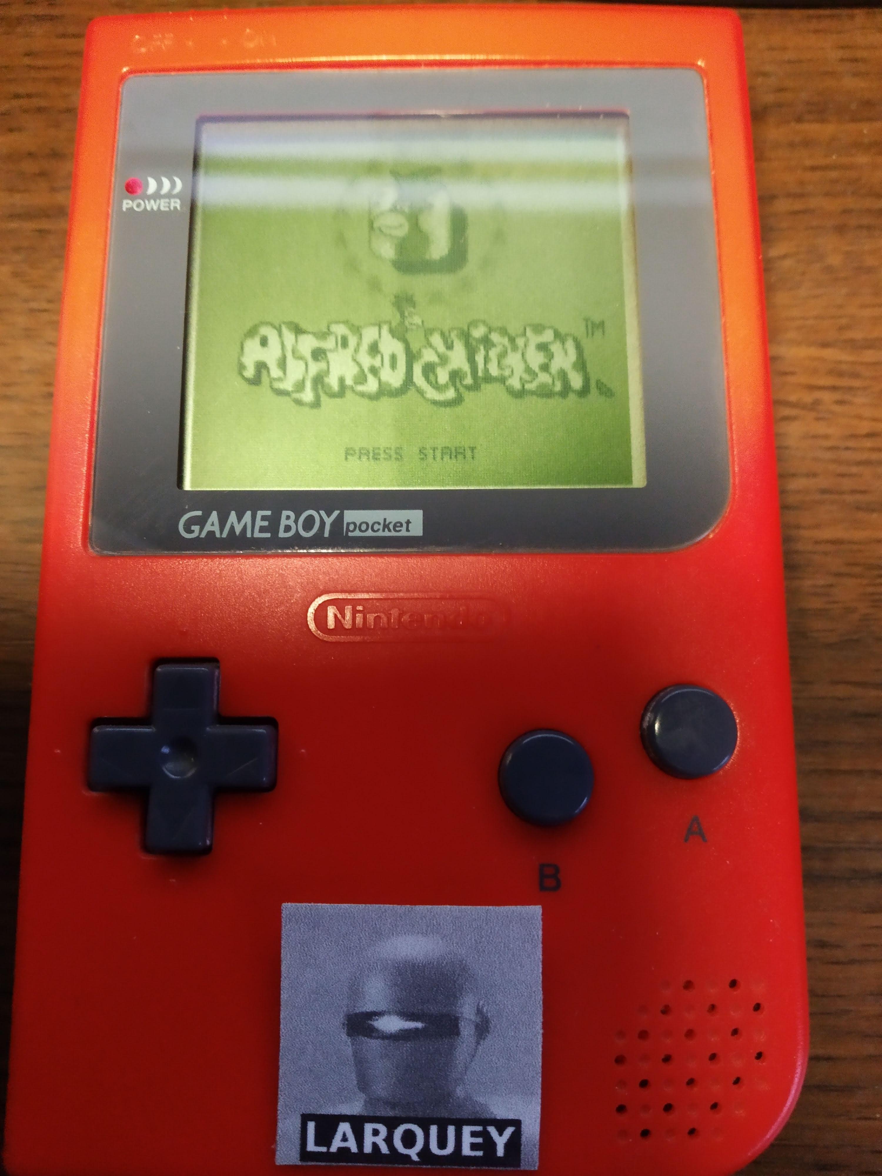 Larquey: Alfred Chicken (Game Boy) 12,230 points on 2019-12-01 10:02:59