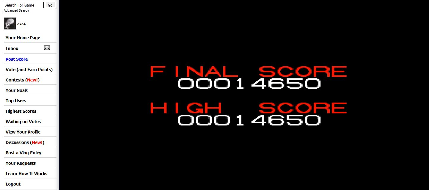 Alien 3 [Easy] 14,650 points