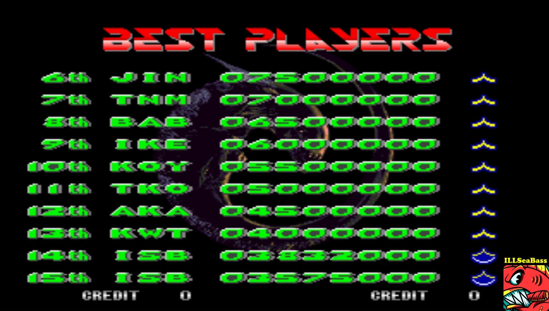 ILLSeaBass: Alien 3: The Gun [alien3u] (Arcade Emulated / M.A.M.E.) 3,832,000 points on 2017-02-23 19:17:40