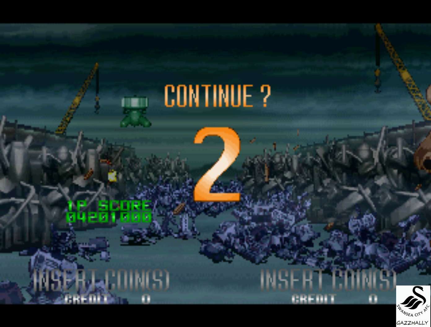 gazzhally: Alien 3: The Gun [alien3u] (Arcade Emulated / M.A.M.E.) 4,201,000 points on 2017-02-24 15:49:16