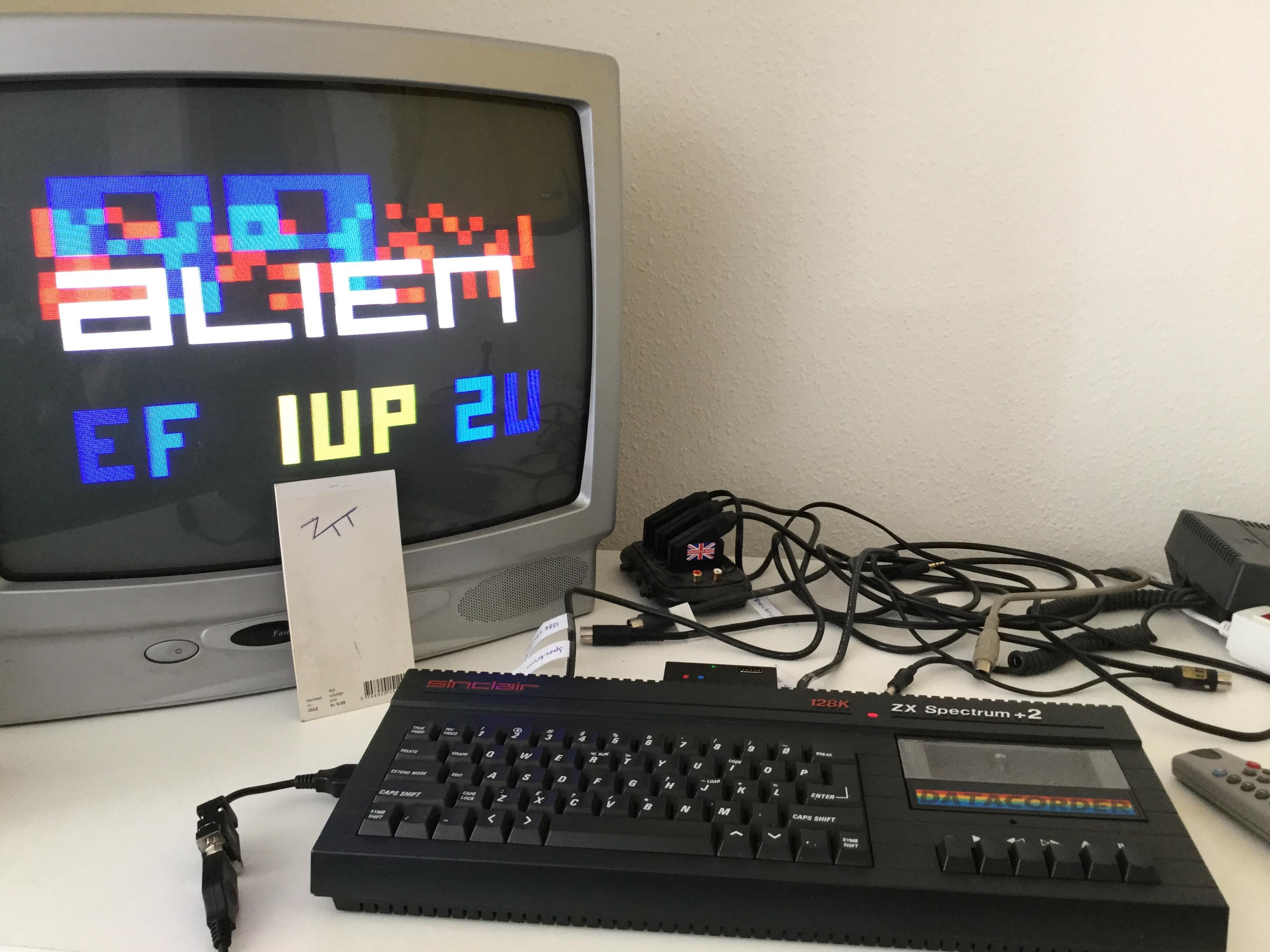 Frankie: Alien 99 (ZX Spectrum) 23,800 points on 2017-06-10 03:15:28