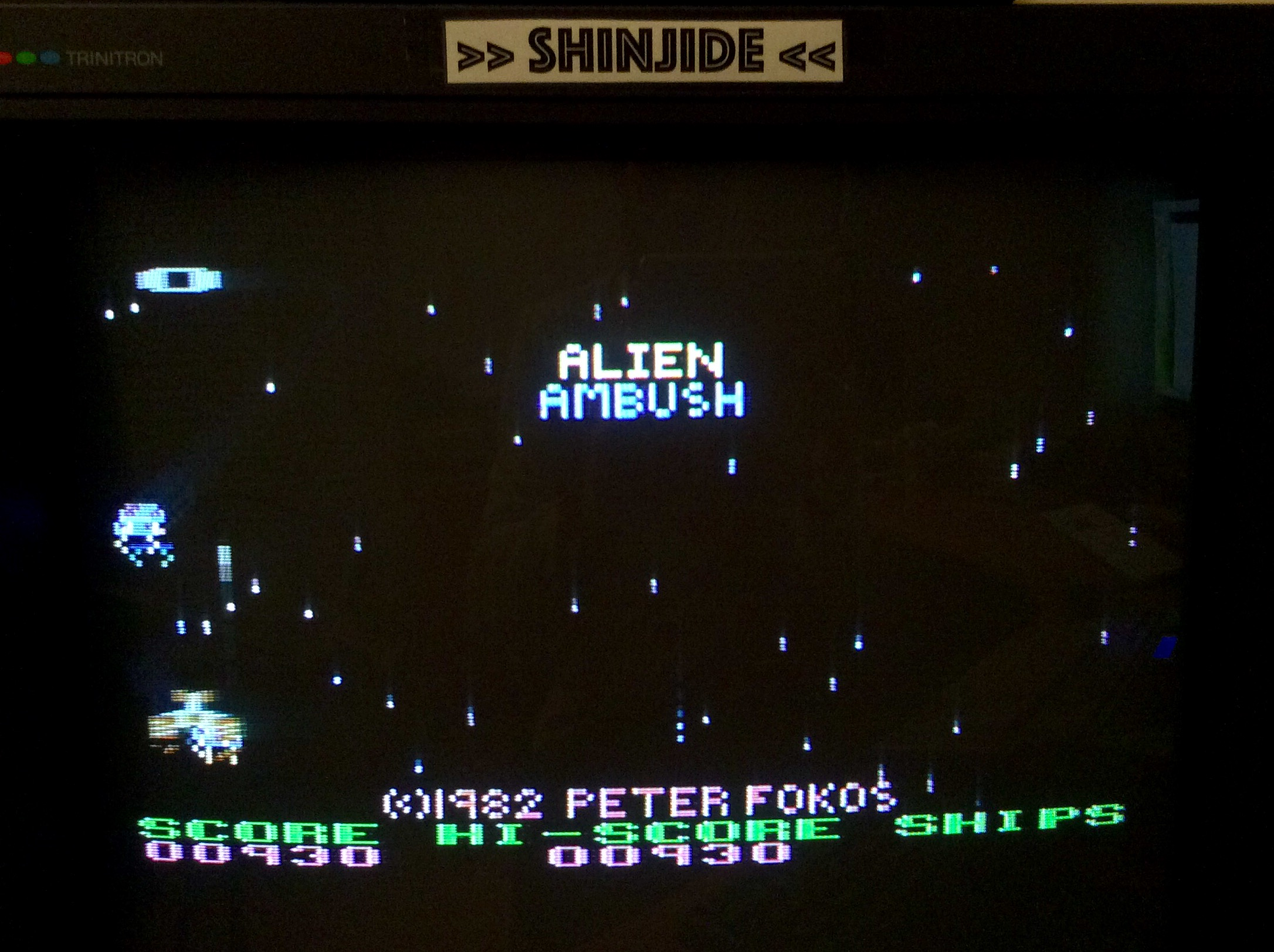 SHiNjide: Alien Ambush (Atari 400/800/XL/XE) 930 points on 2015-11-16 13:59:53