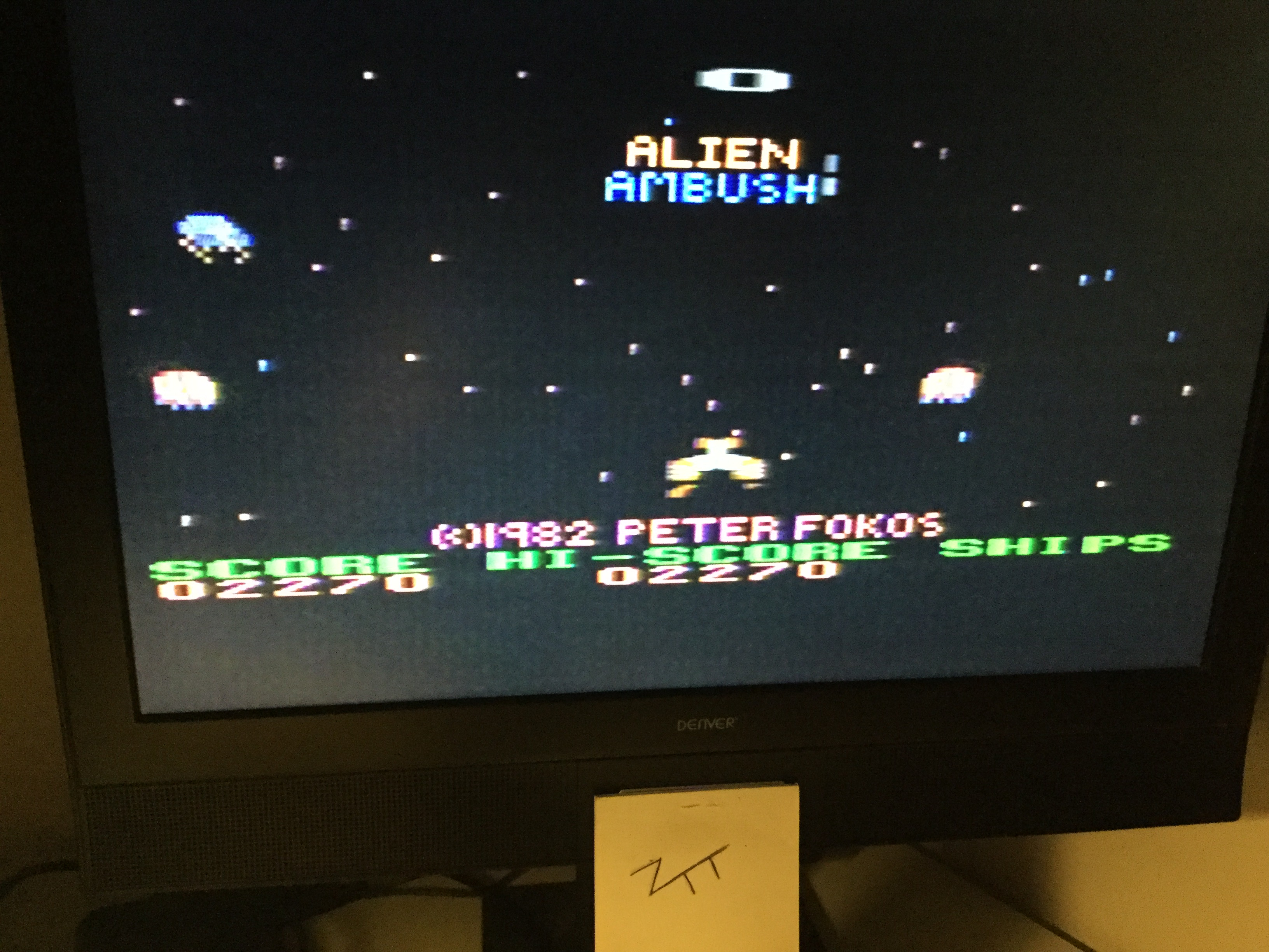 Frankie: Alien Ambush (Atari 400/800/XL/XE) 2,270 points on 2018-09-01 14:15:47