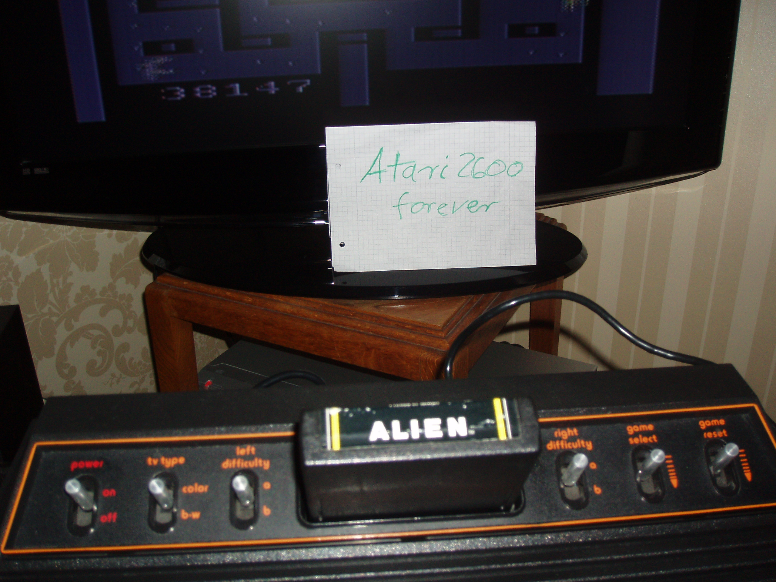atari2600forever: Alien (Atari 2600 Expert/A) 38,147 points on 2015-11-24 02:14:52