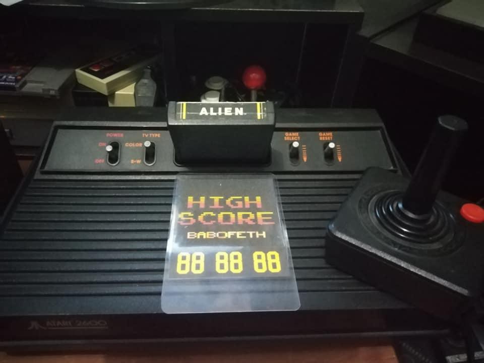 Alien 80,879 points
