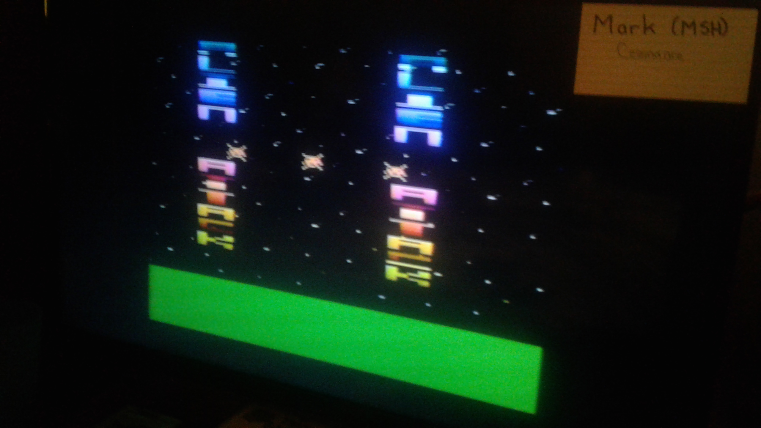 Mark: Alien Attack (Atari 2600 Novice/B) 3 points on 2019-05-28 02:59:04