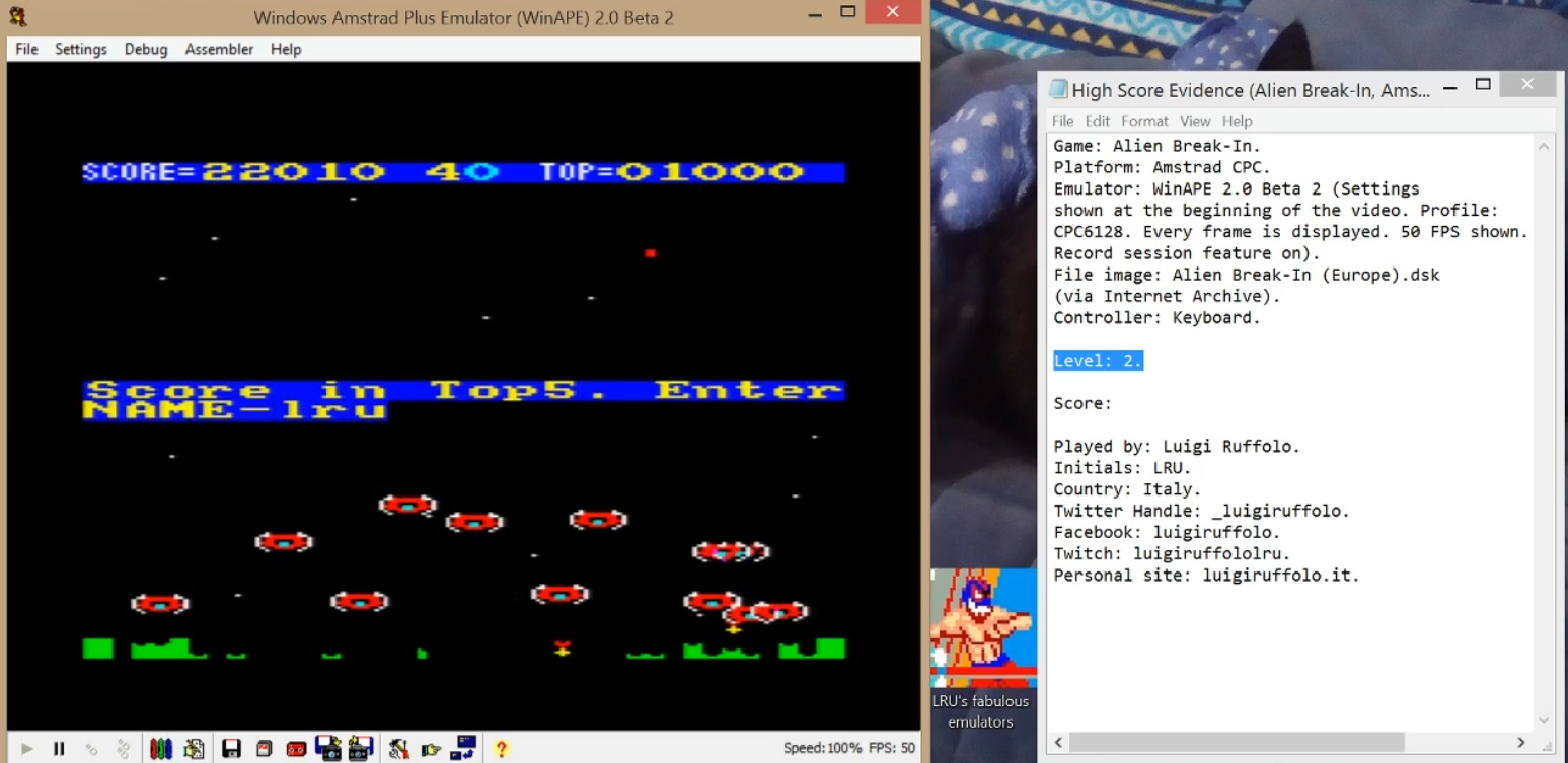 Alien Break-In [Level 2] 22,010 points