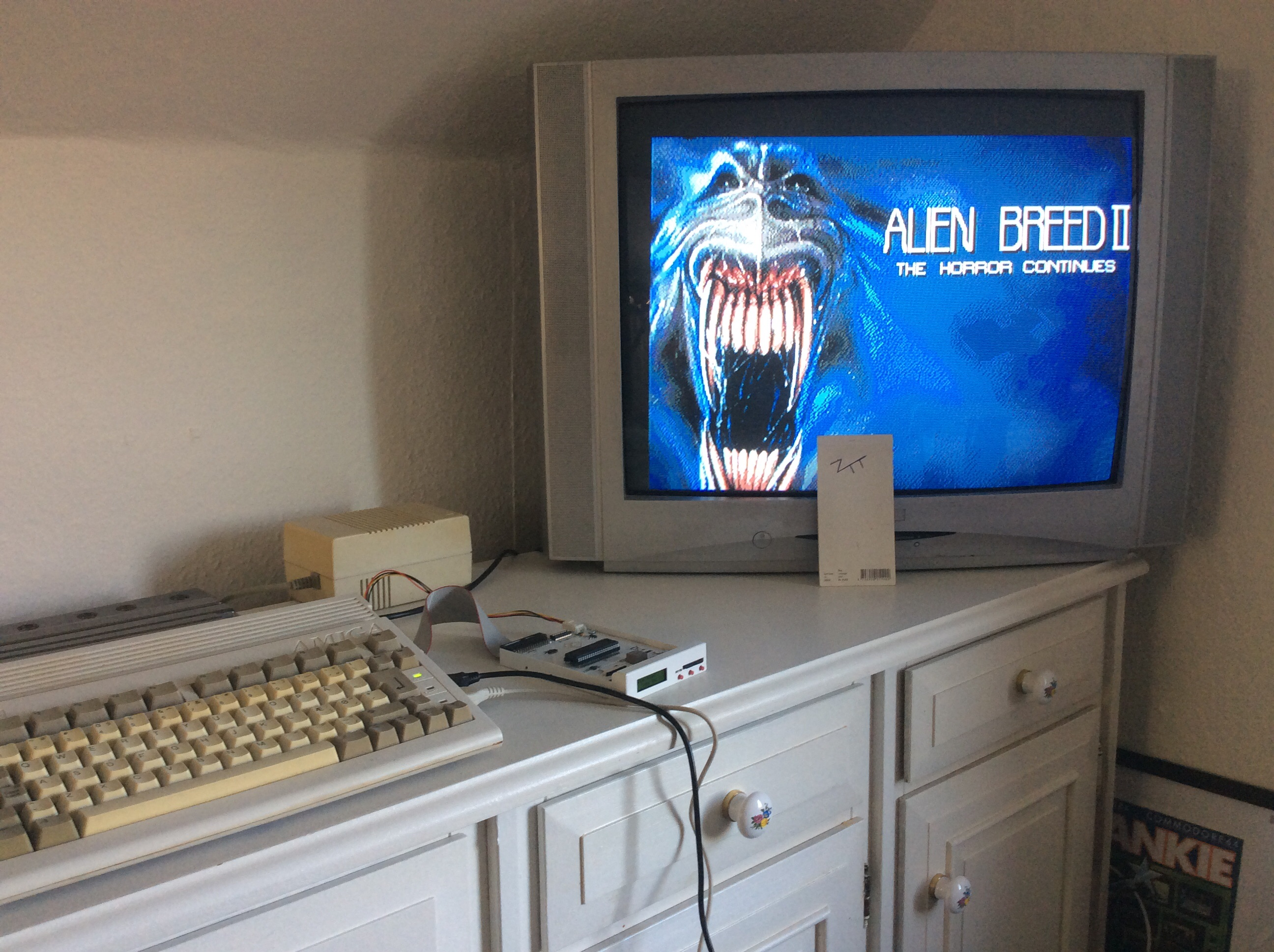 Frankie: Alien Breed II: The Horror Continues [Easy] (Amiga) 71,790 points on 2016-07-08 09:04:32