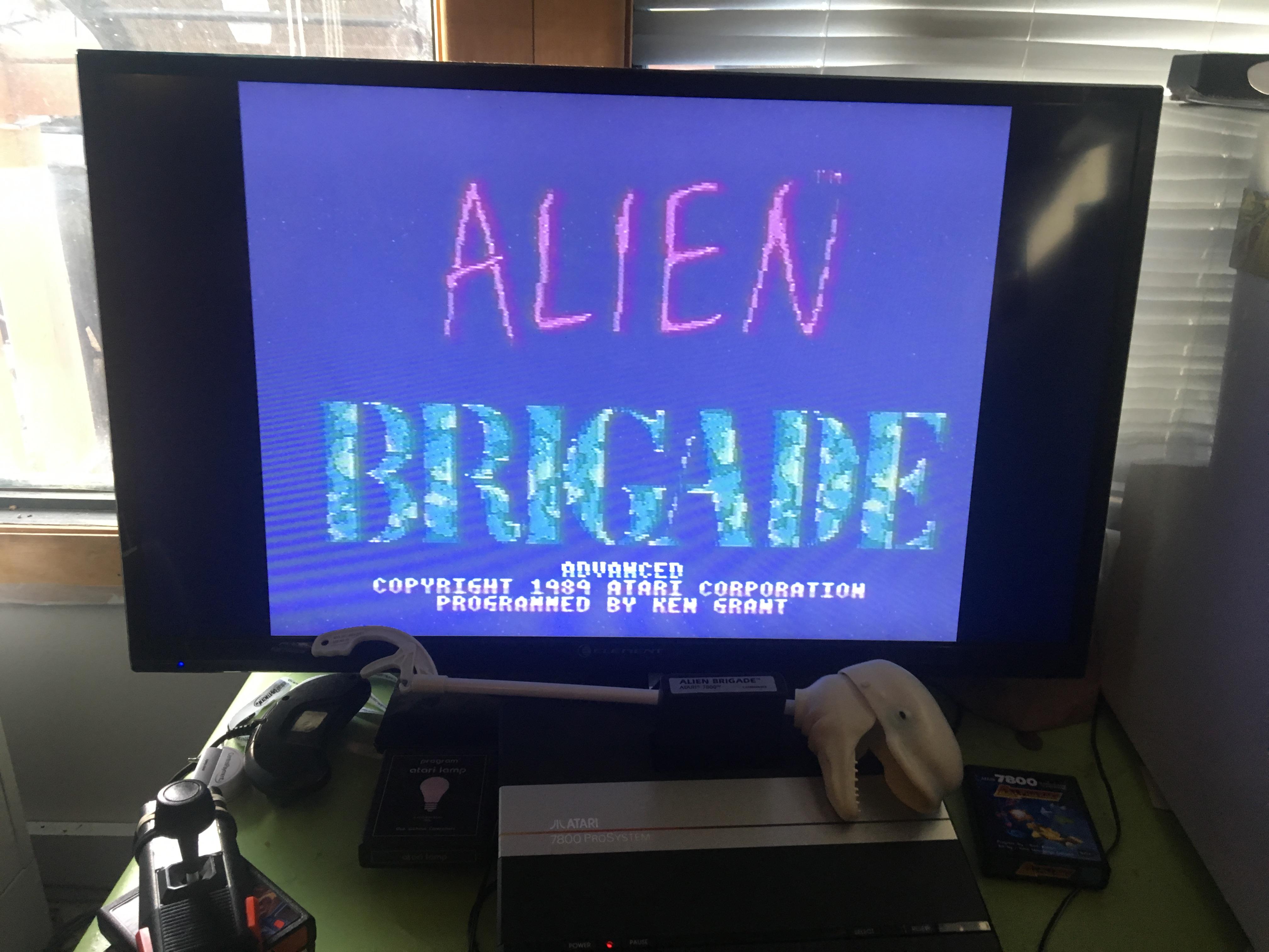 Alien Brigade: Advanced 959,400 points
