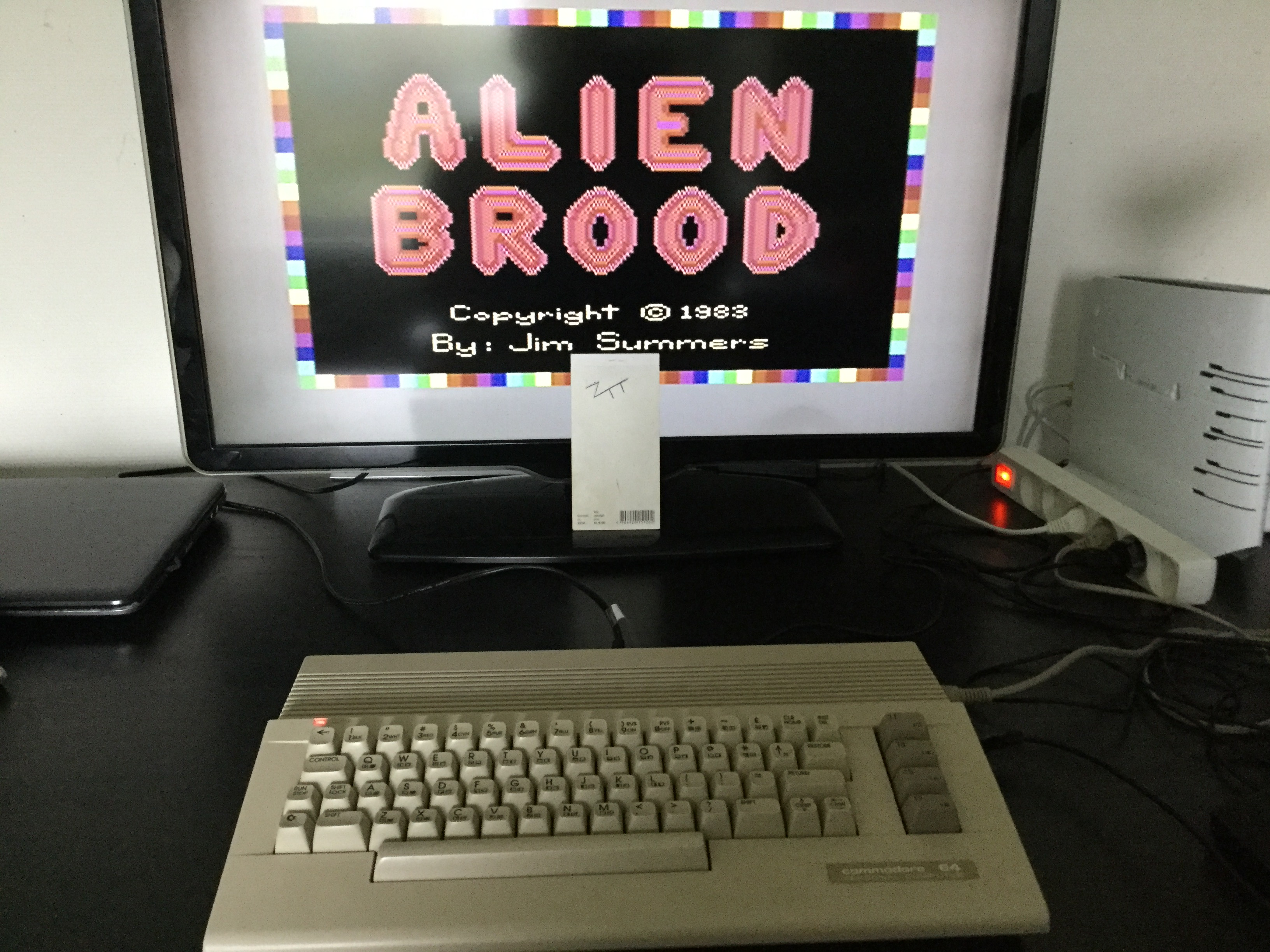 Frankie: Alien Brood [Level 1] (Commodore 64) 27,675 points on 2019-05-30 08:06:19