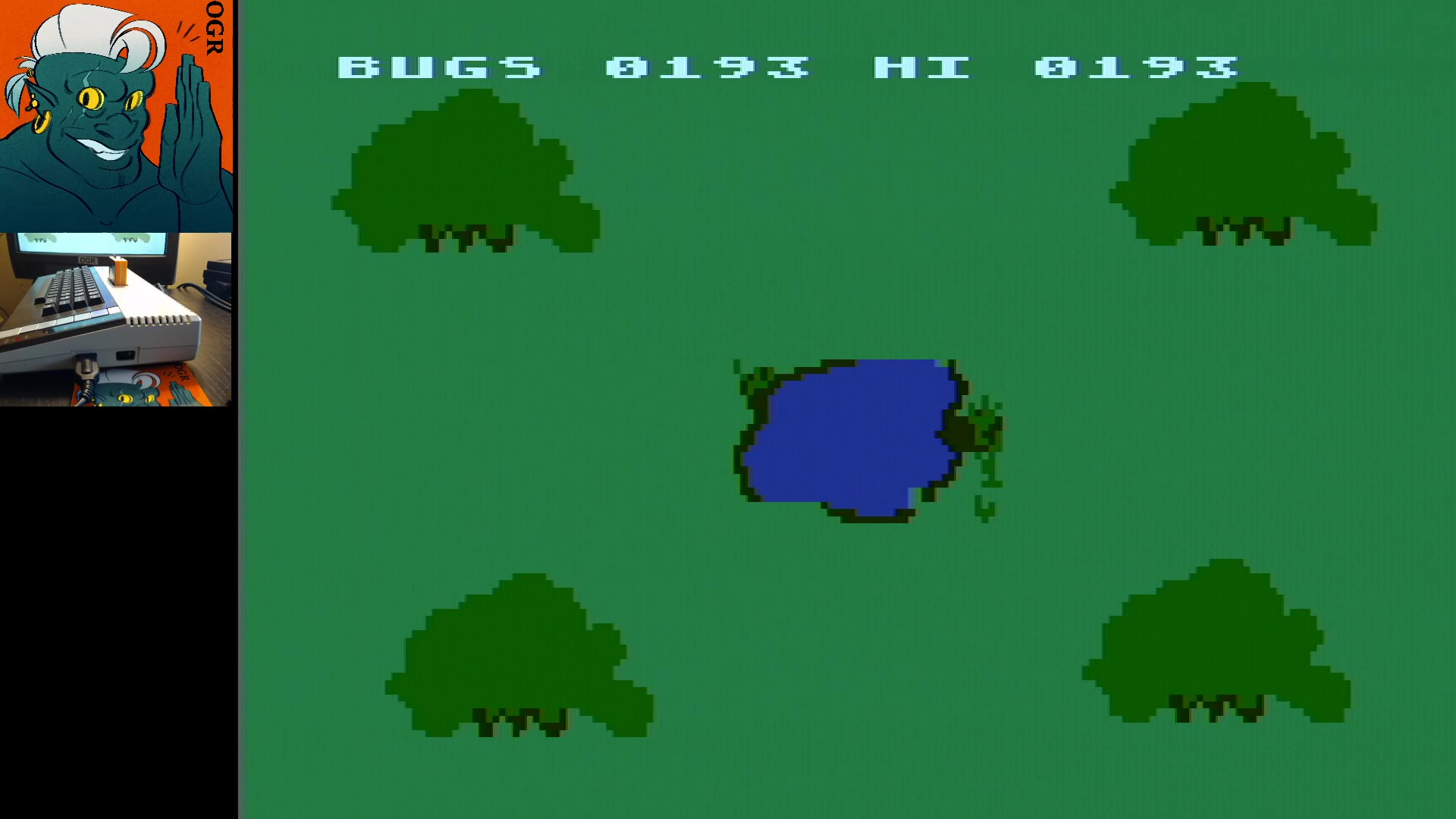 AwesomeOgre: Alien Bugs (Atari 400/800/XL/XE) 193 points on 2020-01-16 14:41:08