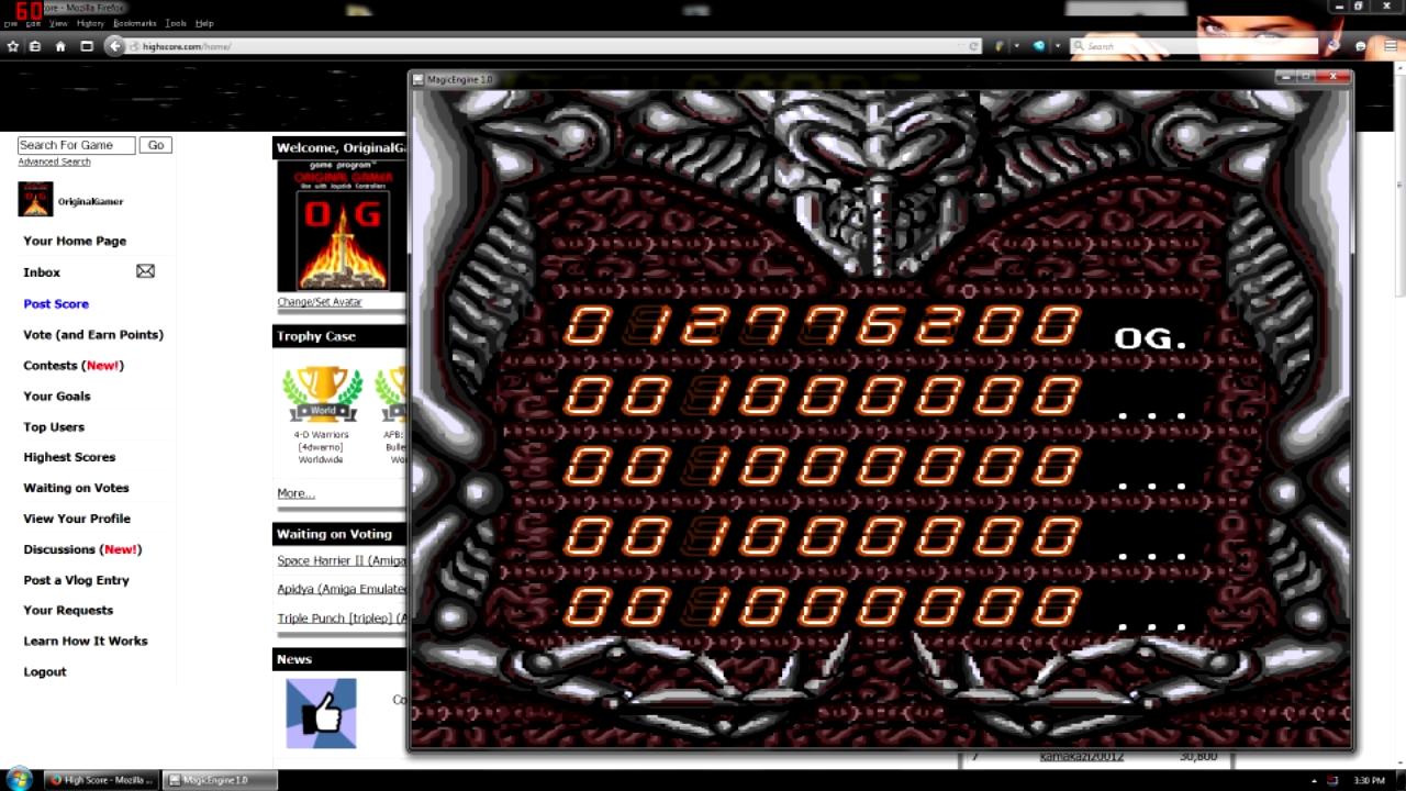 OriginalGamer: Alien Crush (TurboGrafx-16/PC Engine Emulated) 12,776,200 points on 2015-08-13 16:56:48