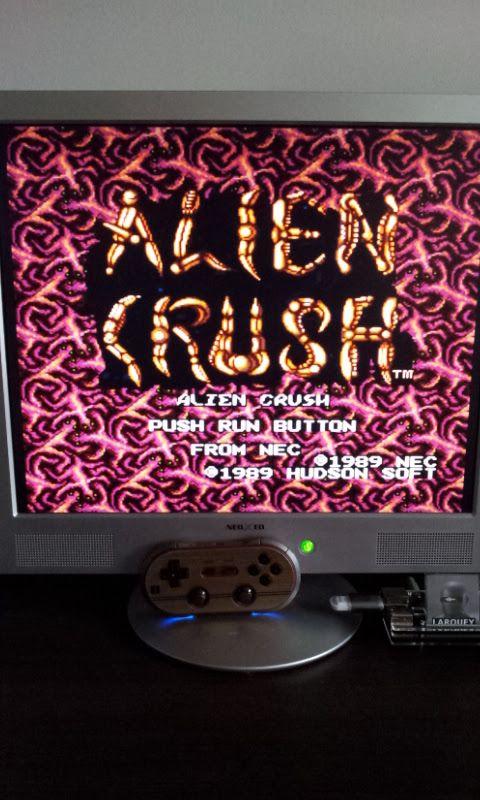 Larquey: Alien Crush (TurboGrafx-16/PC Engine Emulated) 2,672,000 points on 2017-01-20 08:48:37