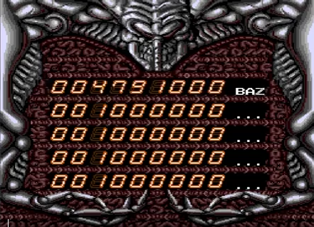 S.BAZ: Alien Crush (TurboGrafx-16/PC Engine Emulated) 4,791,000 points on 2018-09-27 15:51:25
