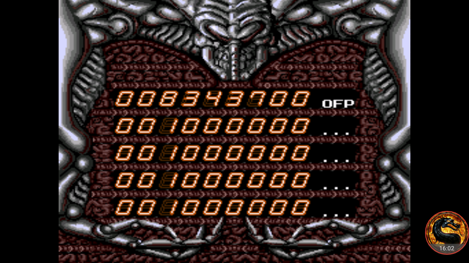 omargeddon: Alien Crush (TurboGrafx-16/PC Engine Emulated) 8,343,700 points on 2018-09-27 23:40:29
