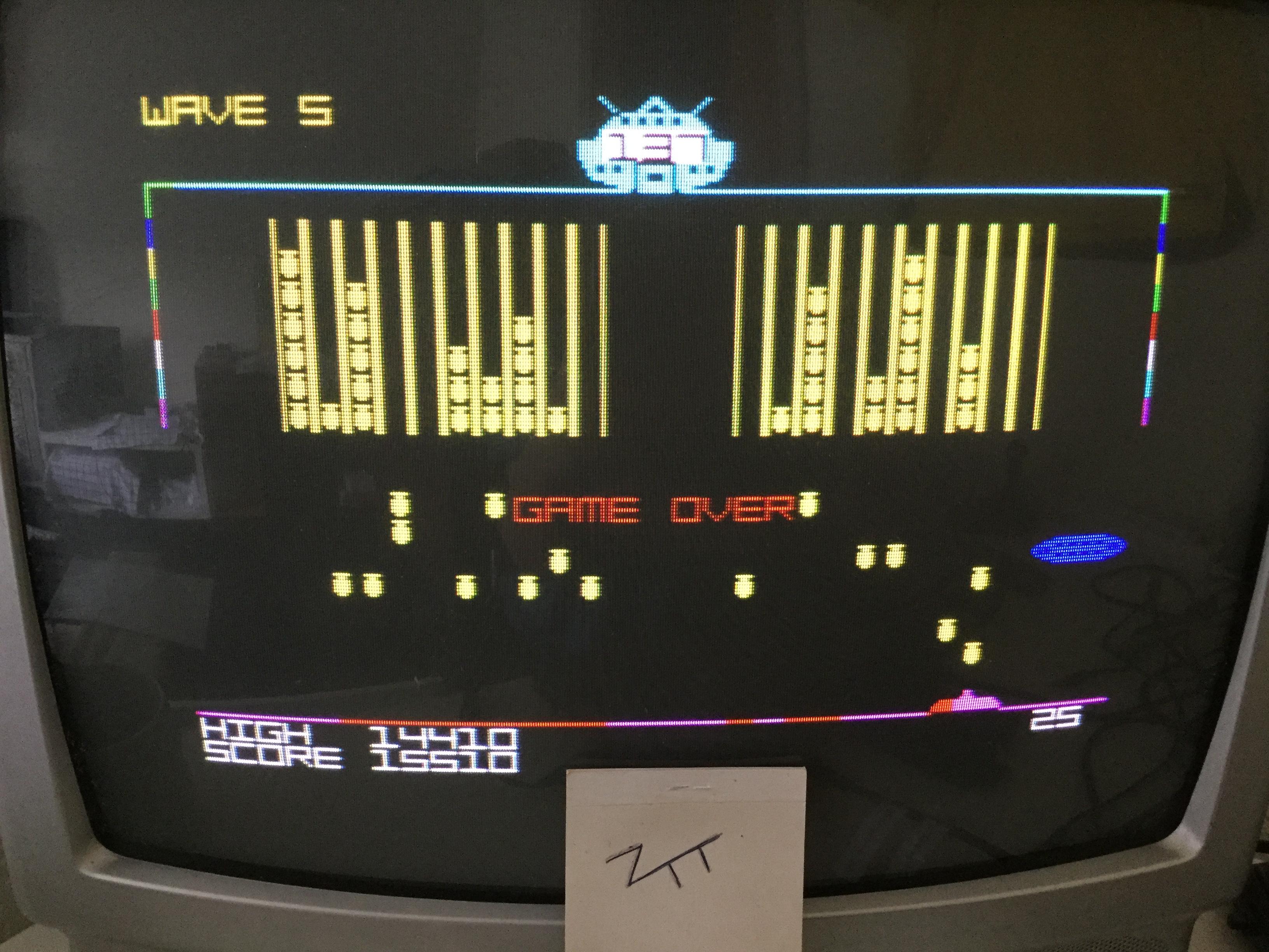 Frankie: Alien Curse (ZX Spectrum) 15,510 points on 2017-06-10 03:57:12