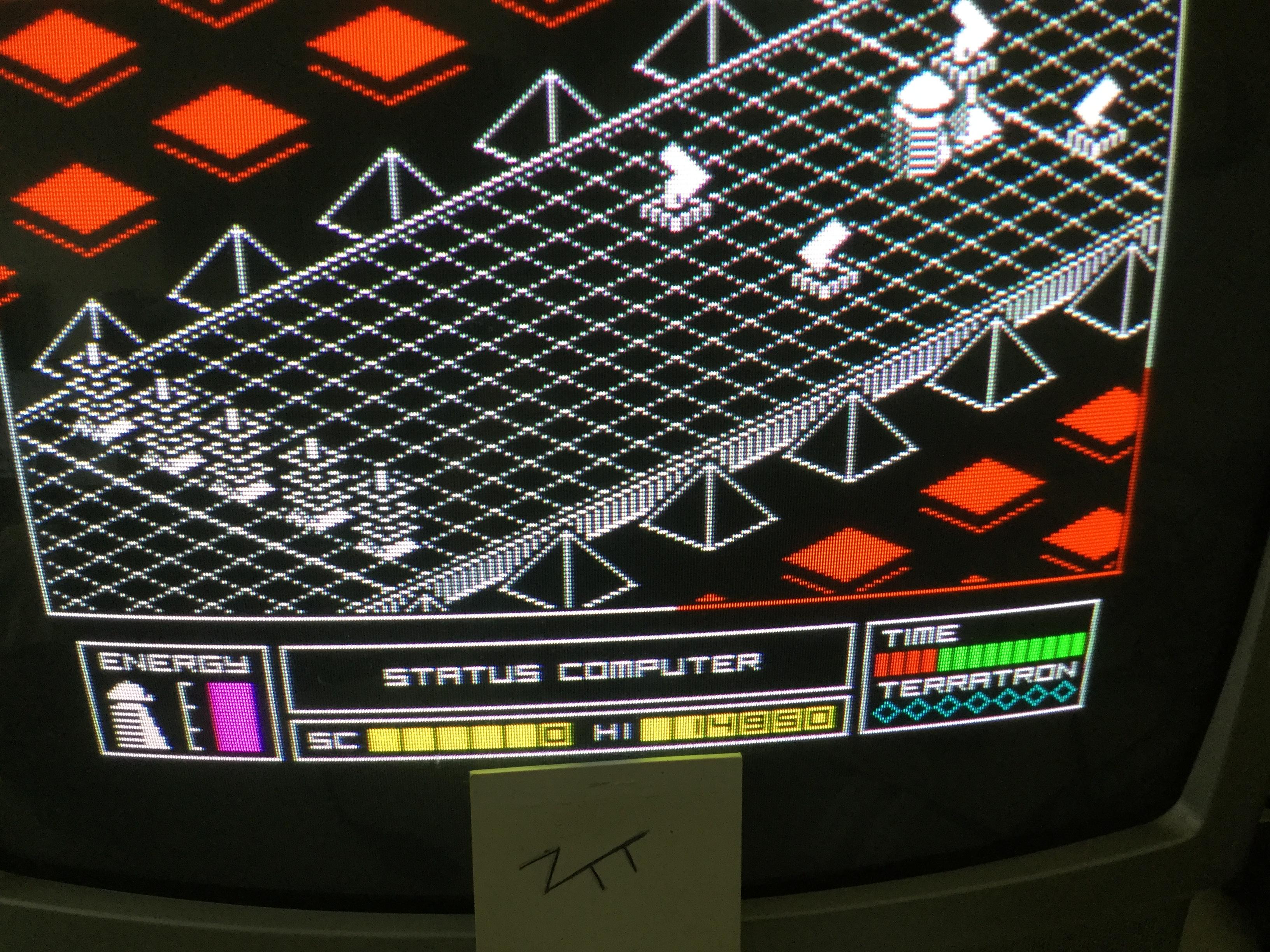 Frankie: Alien Highway (ZX Spectrum) 14,950 points on 2017-06-10 07:00:38