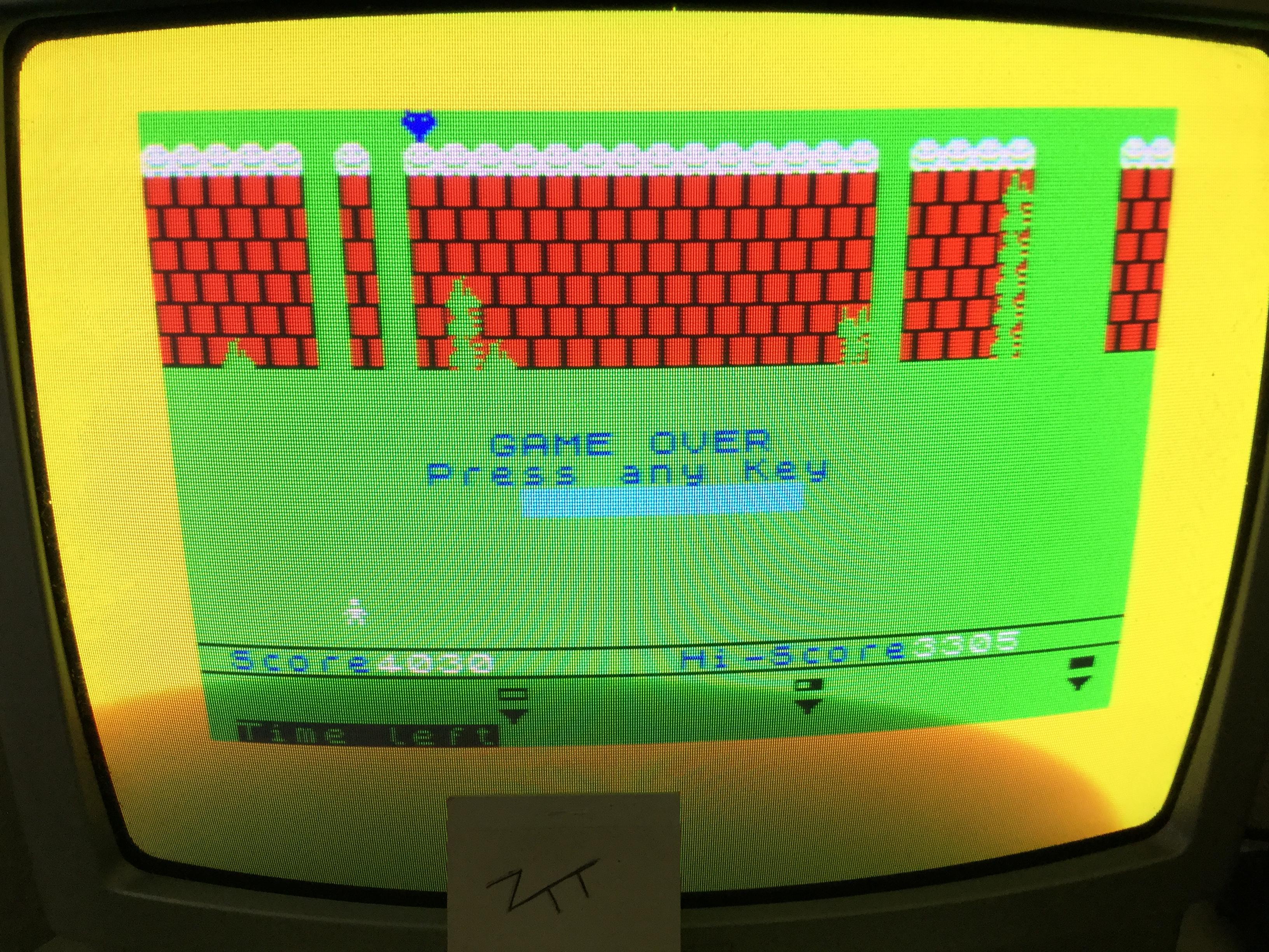 Frankie: Alien Kill [Mastertronic] [Easy] (ZX Spectrum) 4,030 points on 2017-06-10 07:13:26